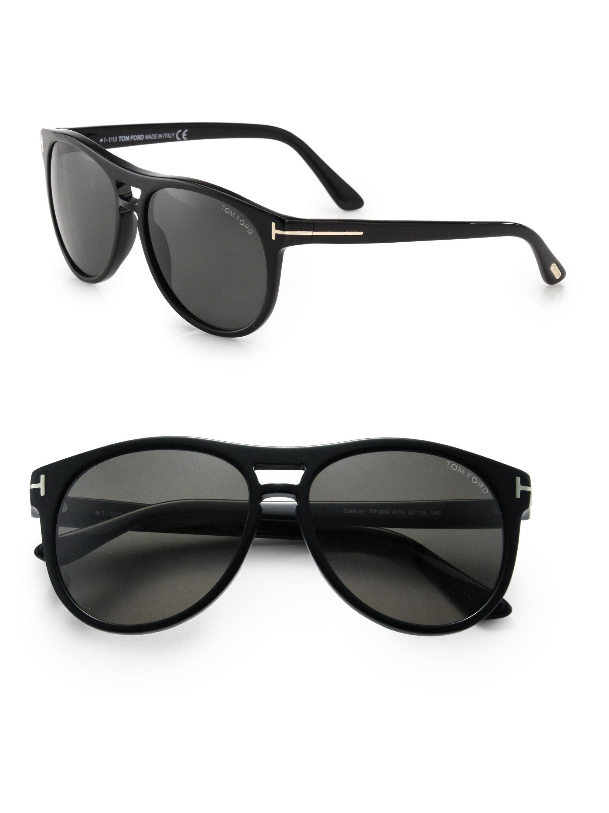 b177dab19ef9 Lyst - Tom Ford Callum Sunglasses in Black