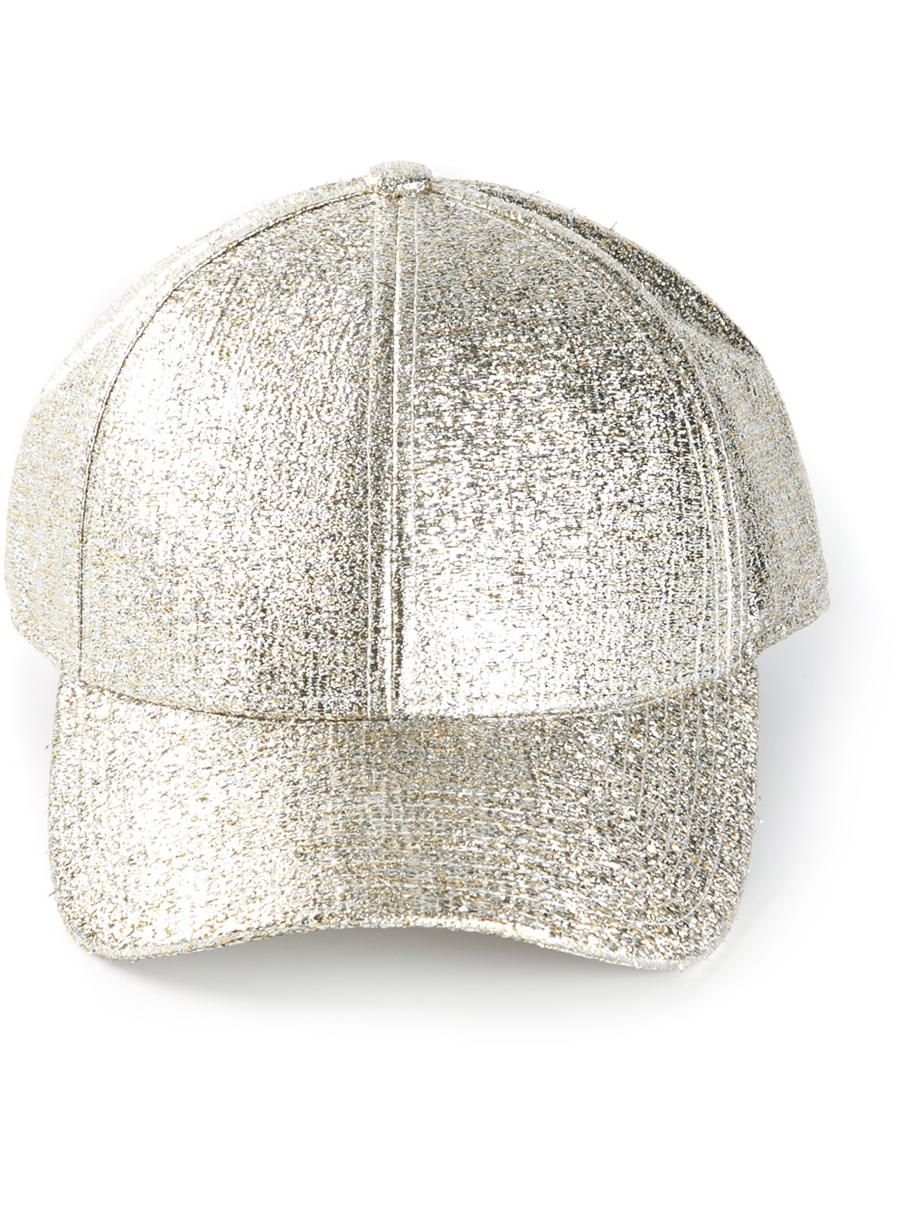 6db6f556815 Lyst - Acne Studios Camp Glitter Cap in Metallic for Men