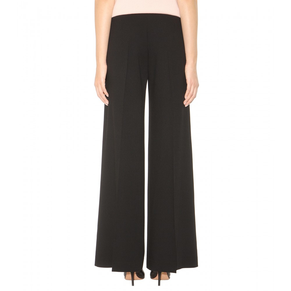 Look waist pants trousers comfy fold over Women High Waisted Bodycon Pants Flare.