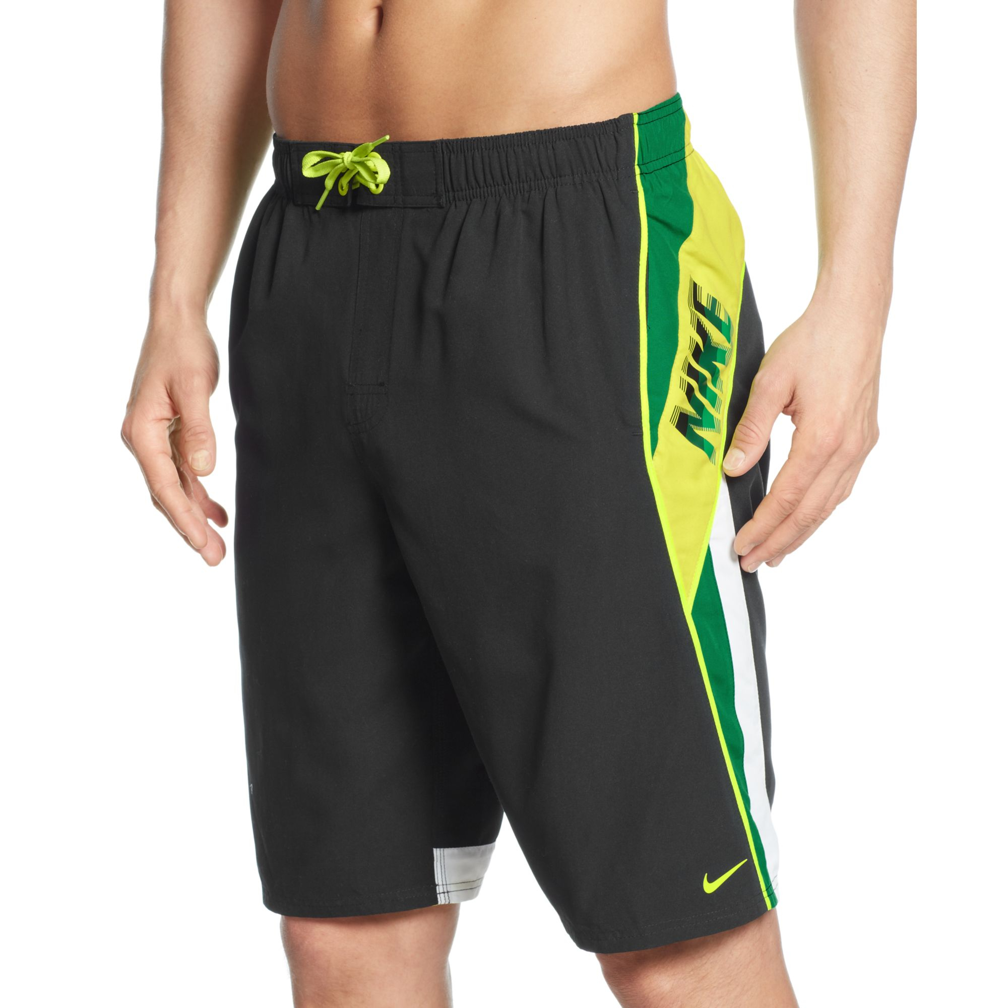 b33466d6d1 Nike Surge 11 Volley Swim Trunks in Green for Men - Lyst