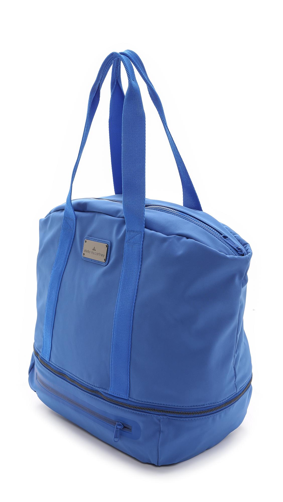 327d7f075f Adidas By Stella Mccartney Iconic Big Bag - Flight Blue in Blue - Lyst