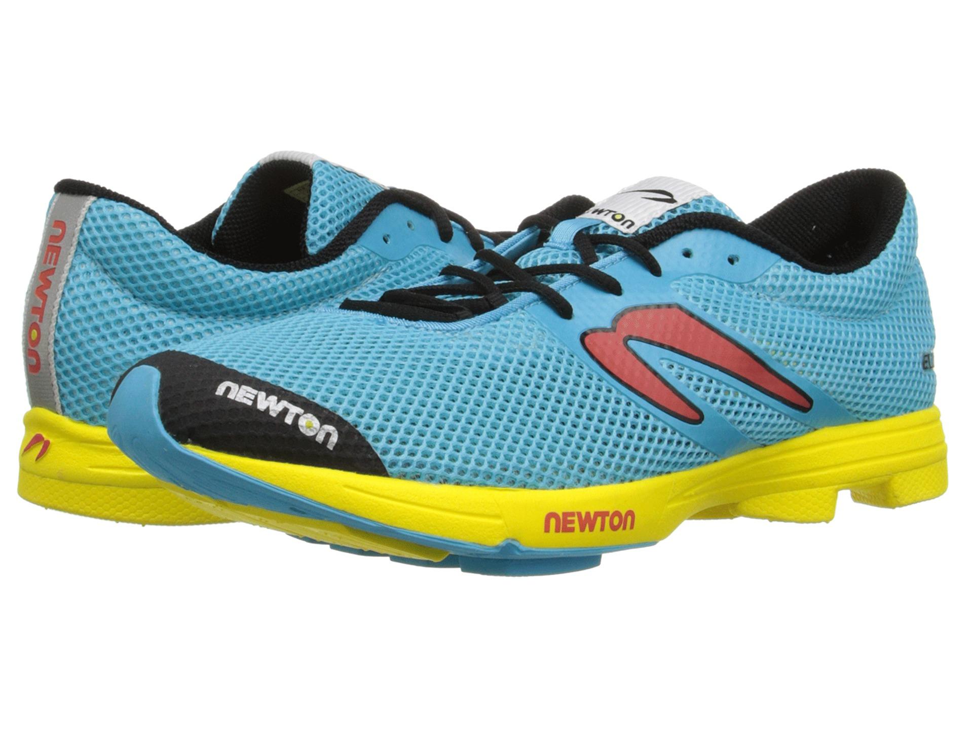 Lyst Newton Running Distance Elite In Yellow For Men