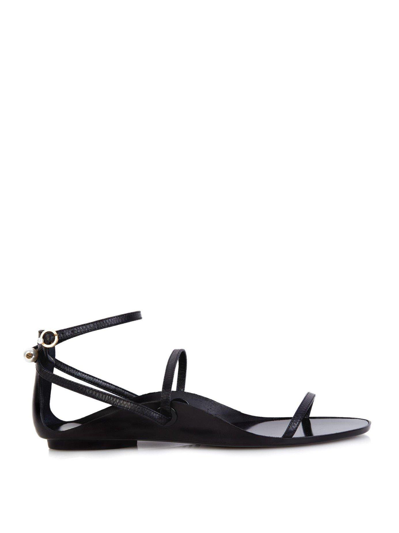 Lanvin Pearl Slippers