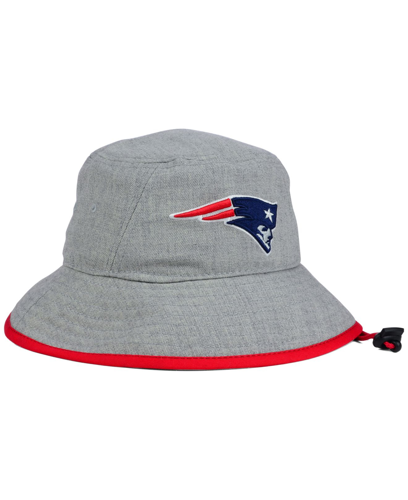 the latest e4dcb cd5d6 ... wholesale lyst ktz new england patriots nfl heather gray bucket hat in  gray 2fd11 469cf