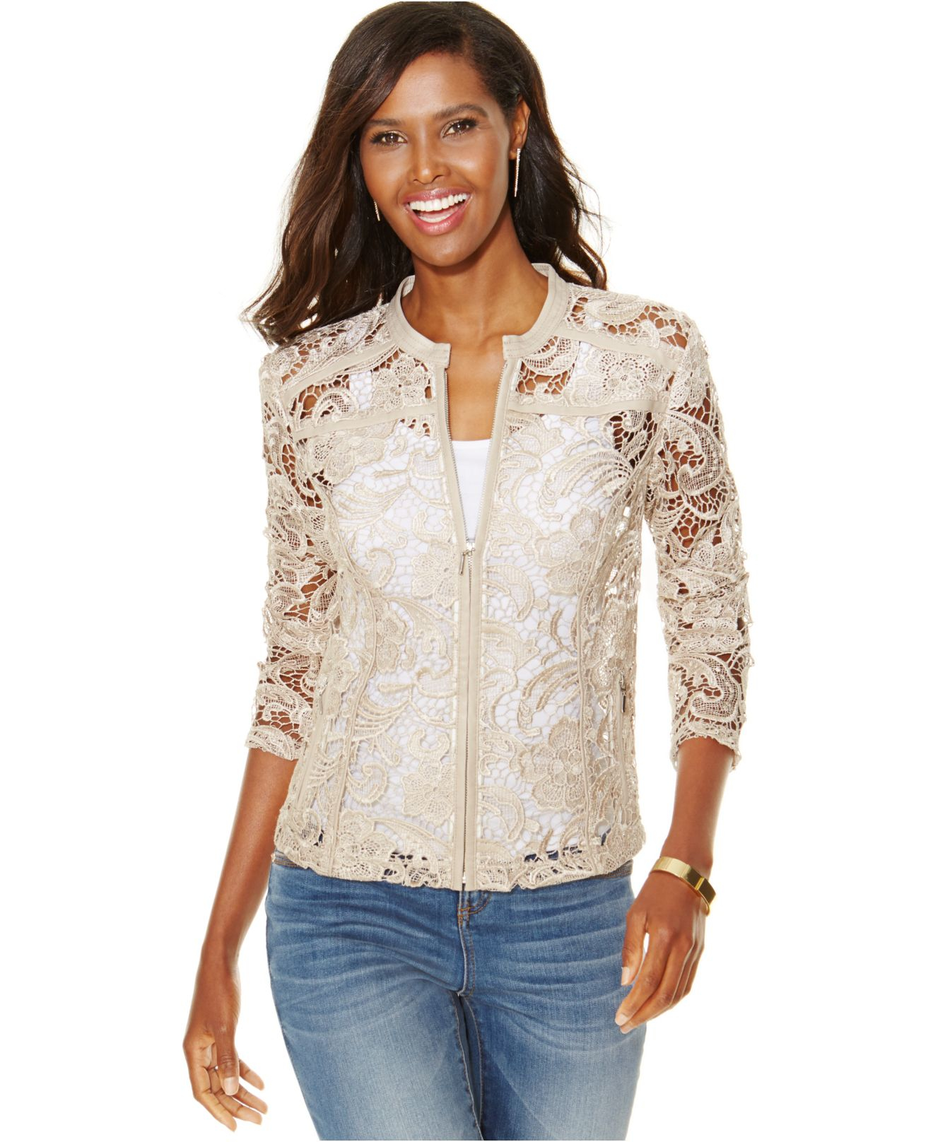 Wedding Lace Jacket images of lace jacket fashion trends and models inc international concepts petite faux leather trim in