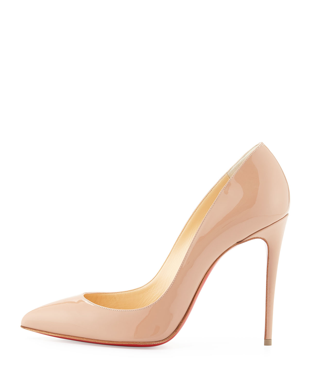 christian louboutin pigalle follies patent-leather pumps
