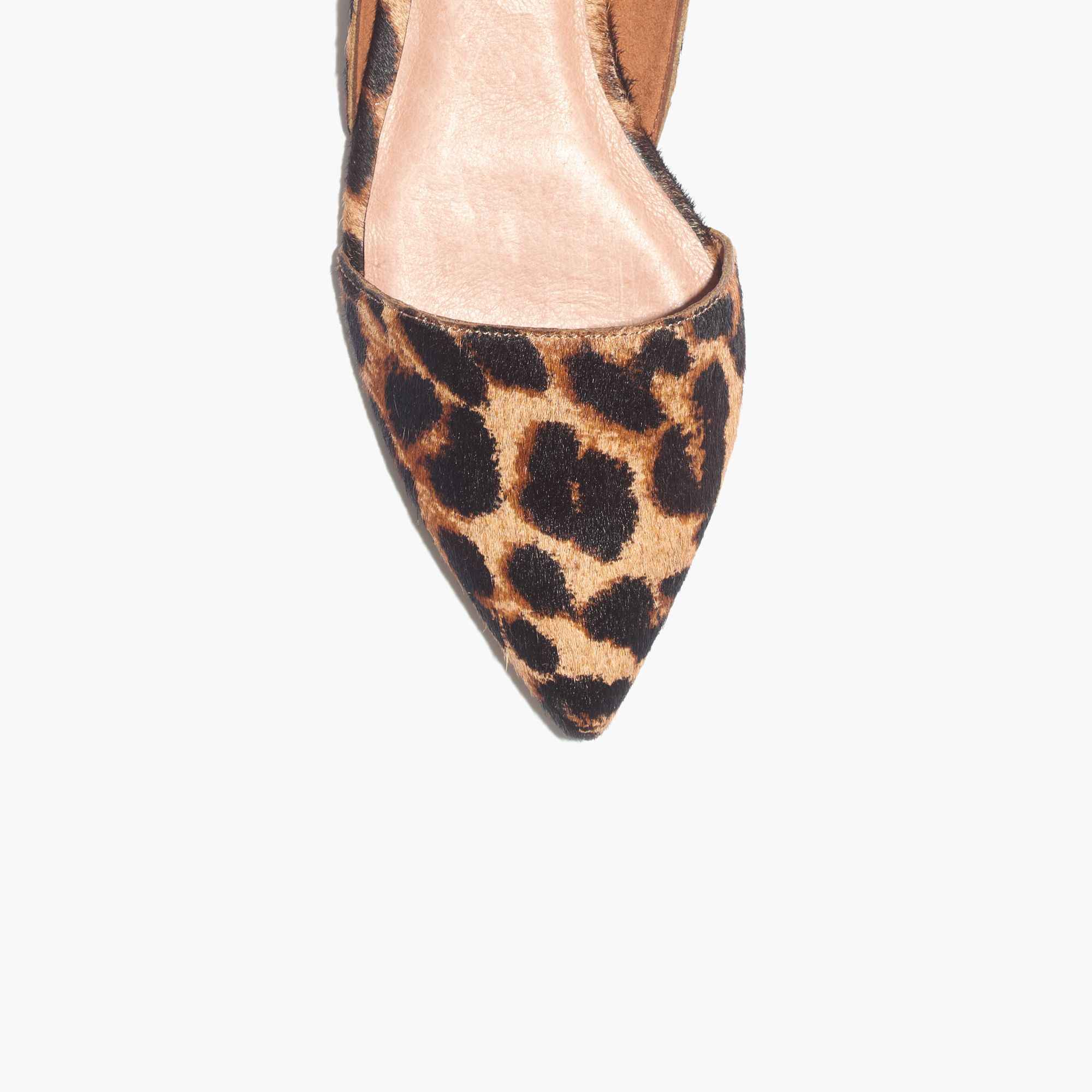 5a36b2a9c3b Lyst - Madewell The Lydia Flat In Leopard in Natural