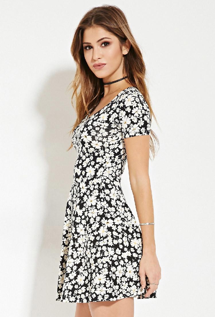 644e9e2042 Cute Floral Dresses Forever 21 | Saddha