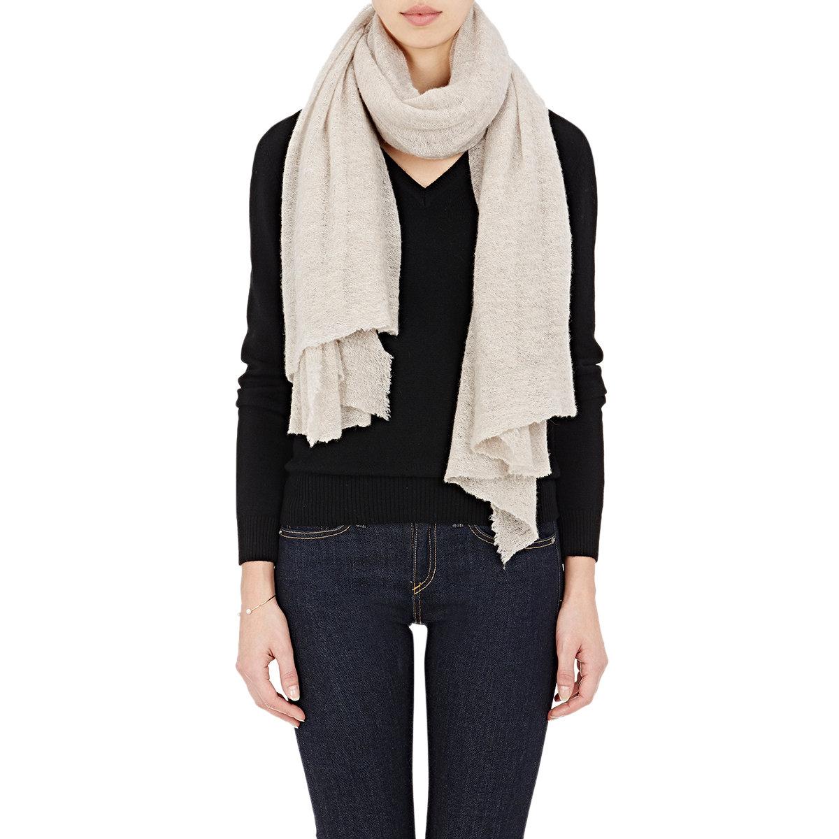 botto giuseppe gauze oversized scarf in lyst