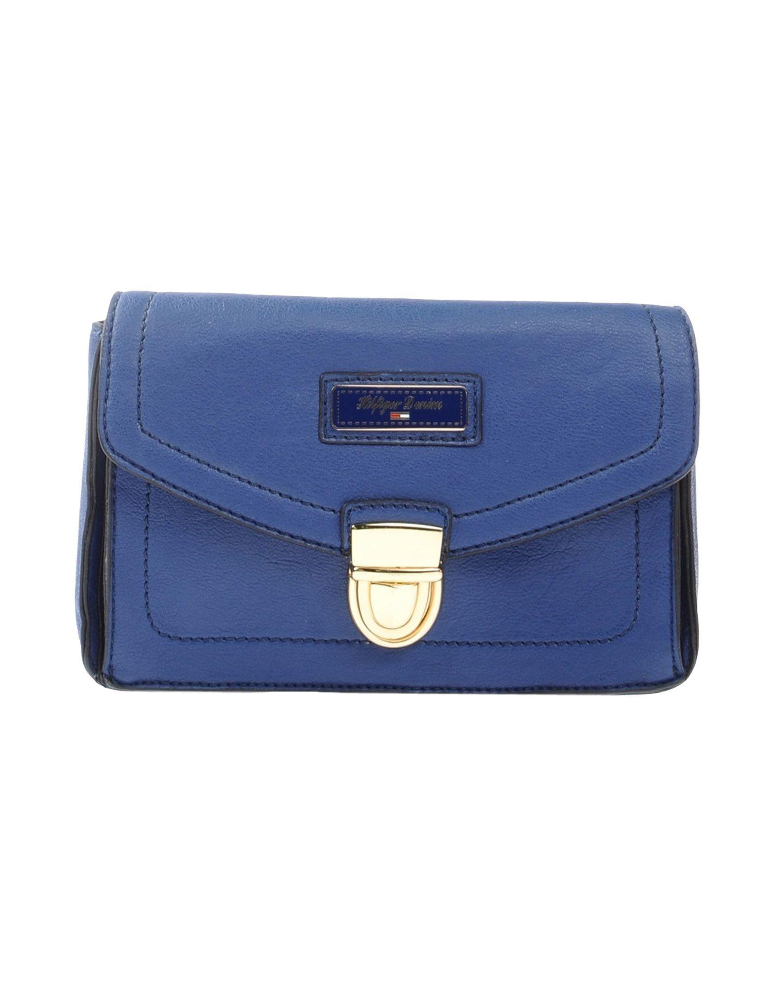 tommy hilfiger handbag in blue lyst. Black Bedroom Furniture Sets. Home Design Ideas