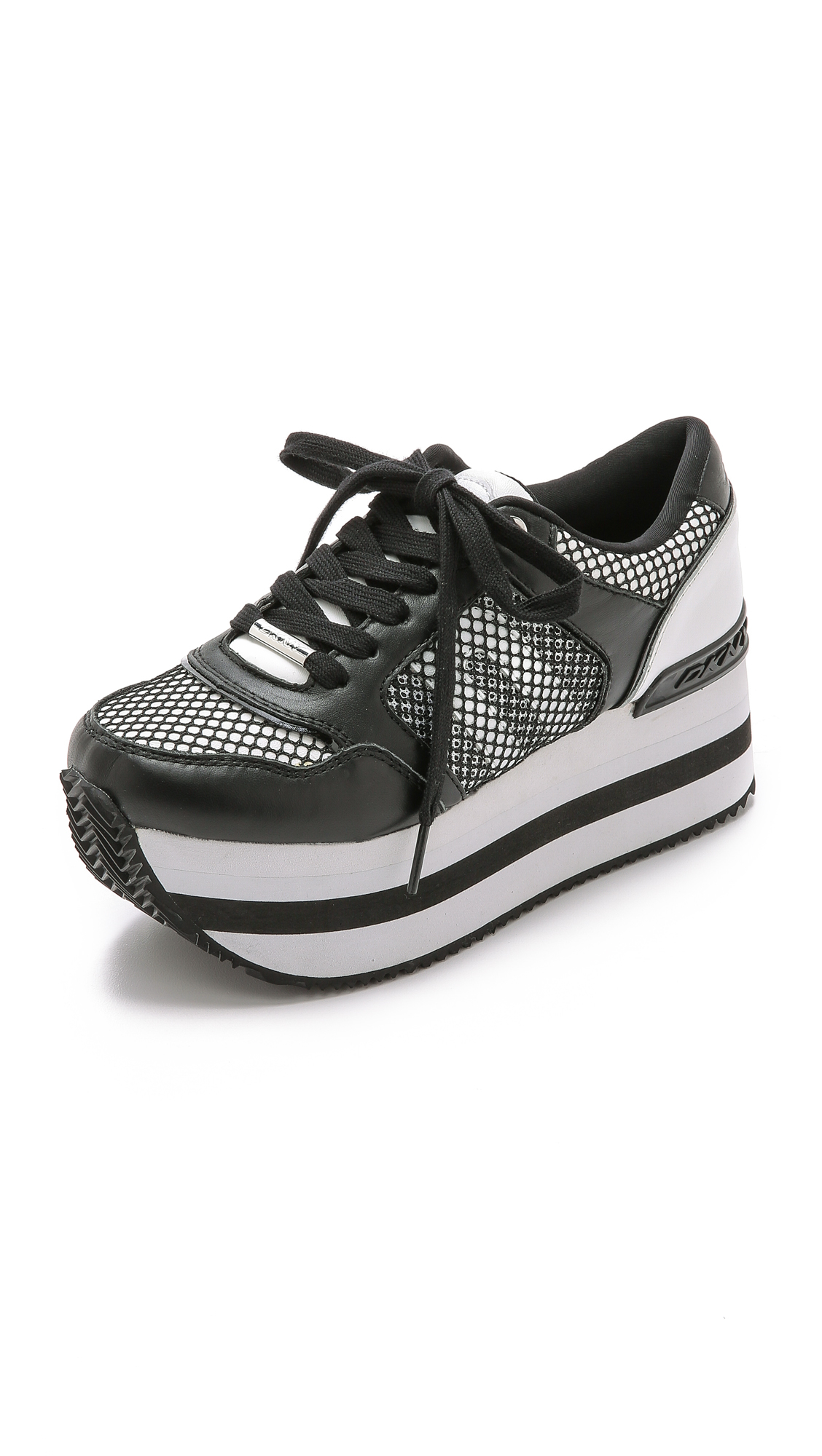 Dkny Shoes Black And White