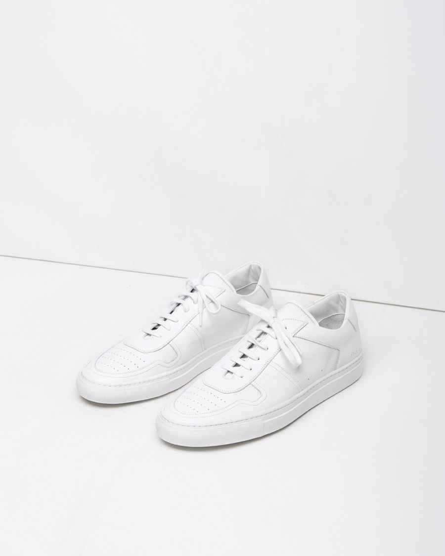 50daa34d261362 Common Projects B Ball Leather Low-Top Sneakers in White - Lyst