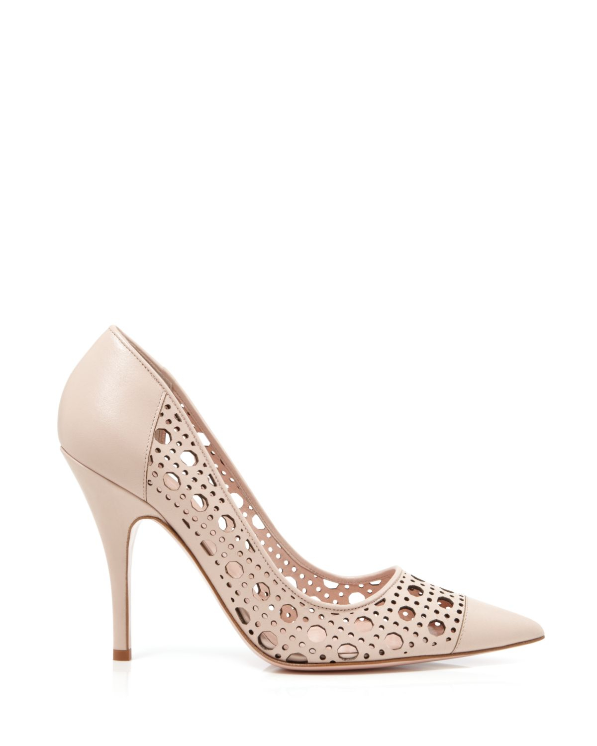 Kate spade new york Perforated Pumps - Lizette High Heel in Pink