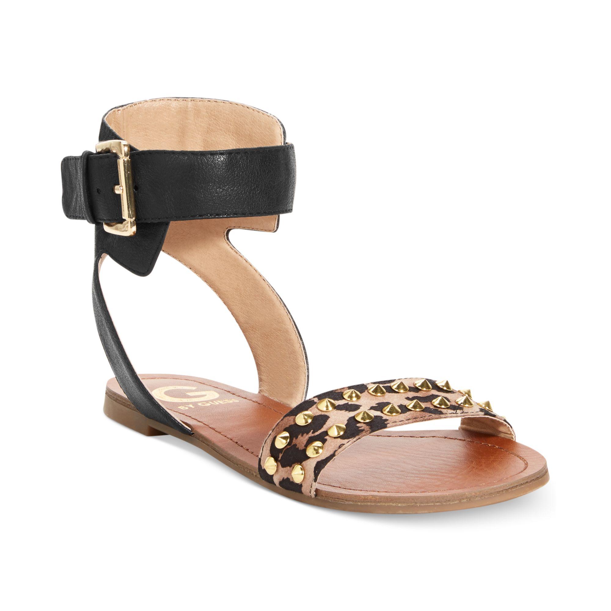 6da13e67ee6 Lyst - G by Guess Womens Keeper Flat Sandals