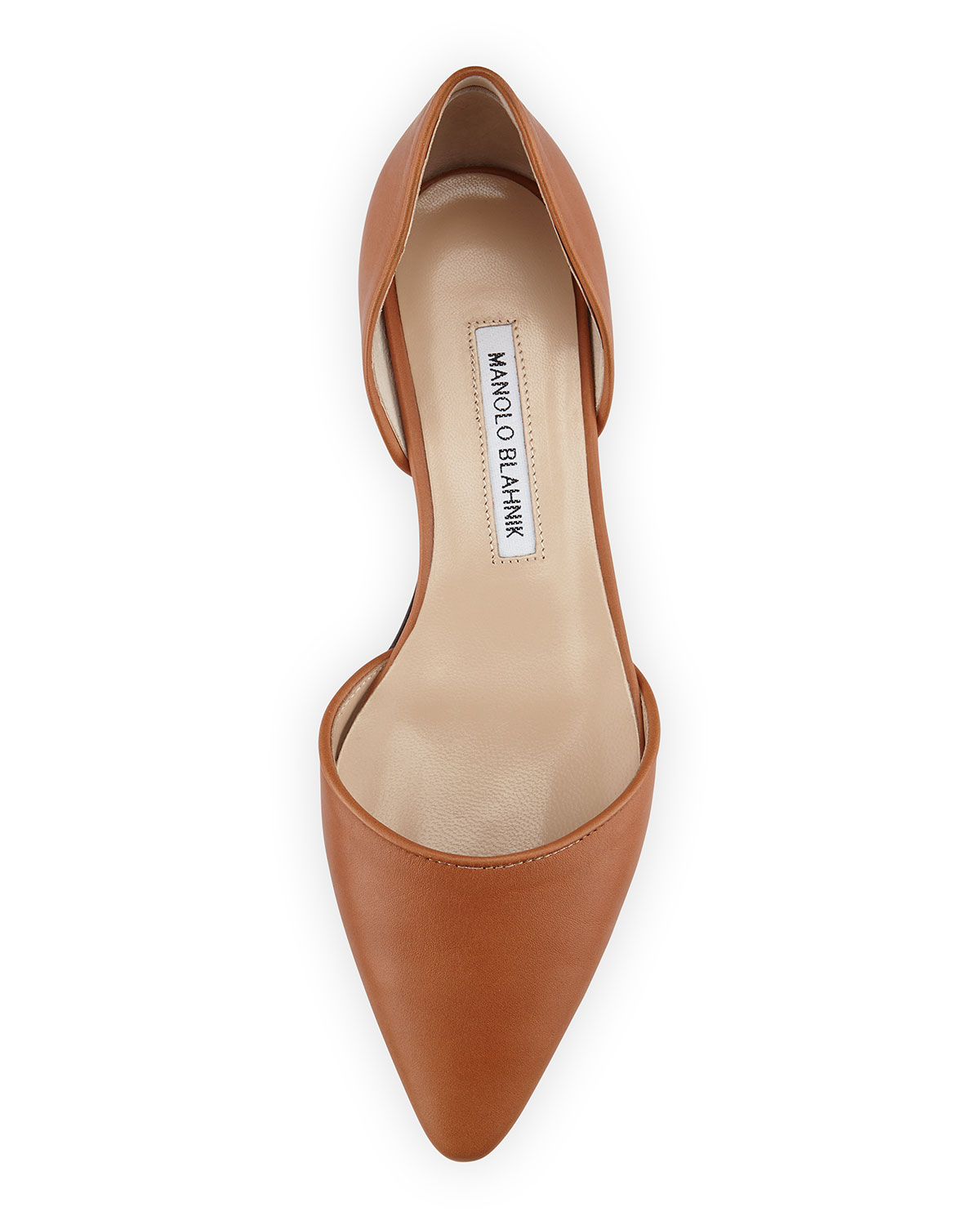 Flat D Orsay Shoes