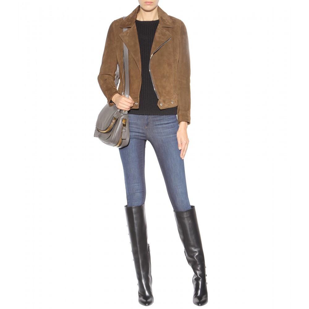 Medium New Jennifer leather shoulder bag Tom Ford dvtKexadz