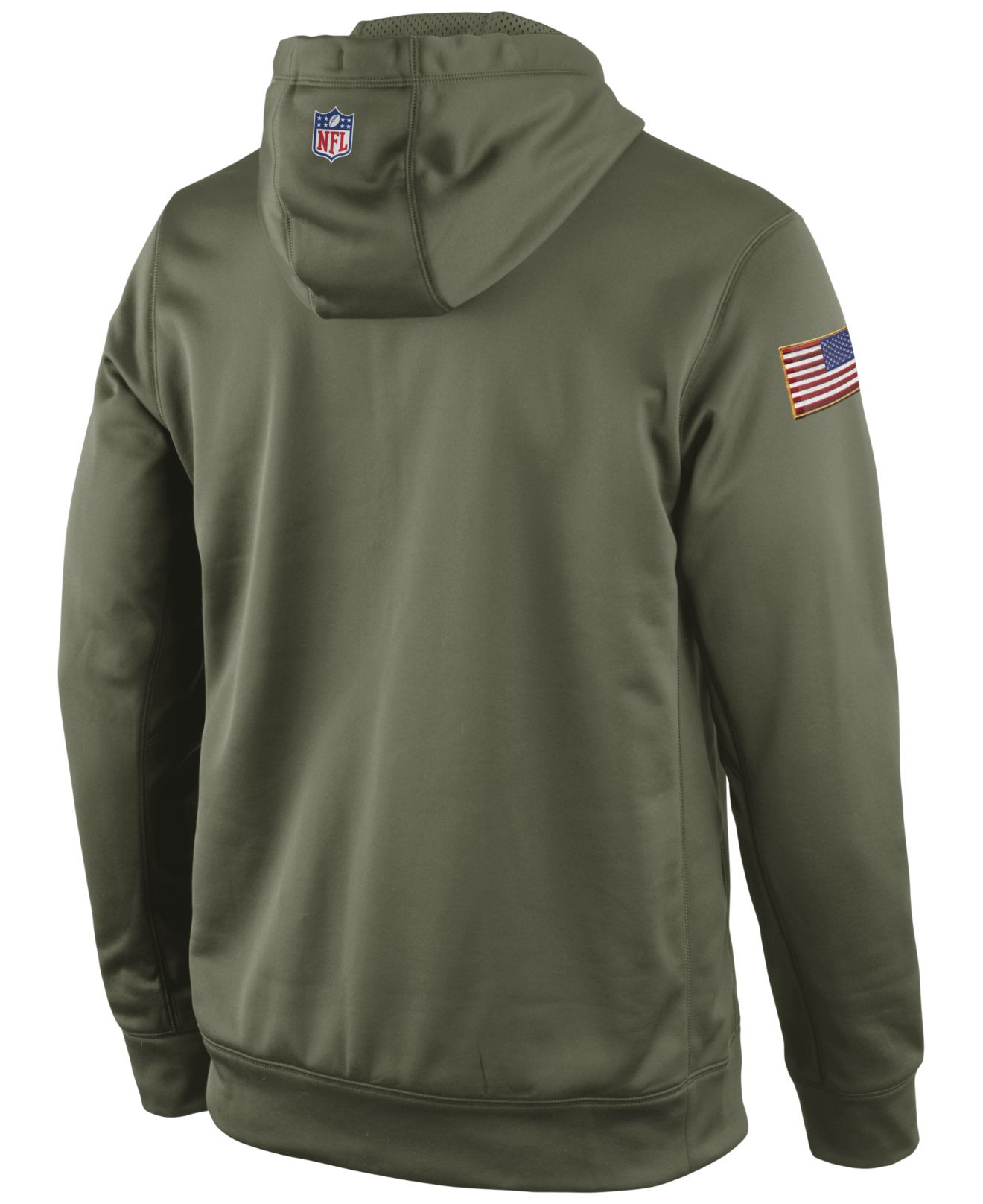 f85ba6a729d Nike Men S San Francisco 49Ers Salute To Service Ko Hoodie in Green ...