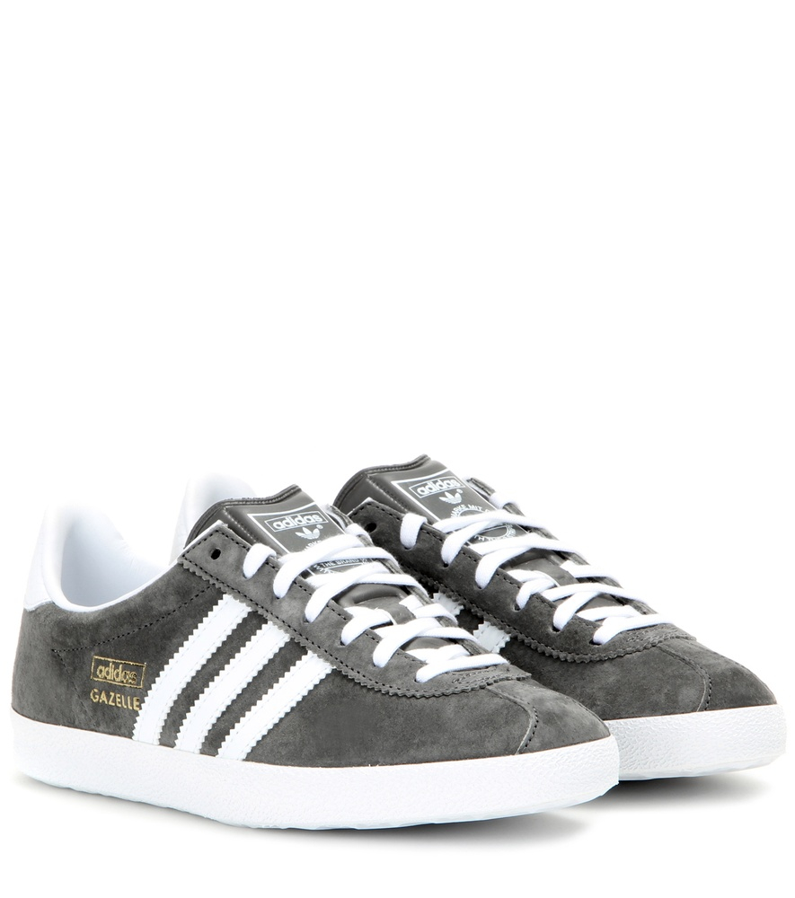 adidas originals gazelle og suede sneakers in gray lyst. Black Bedroom Furniture Sets. Home Design Ideas