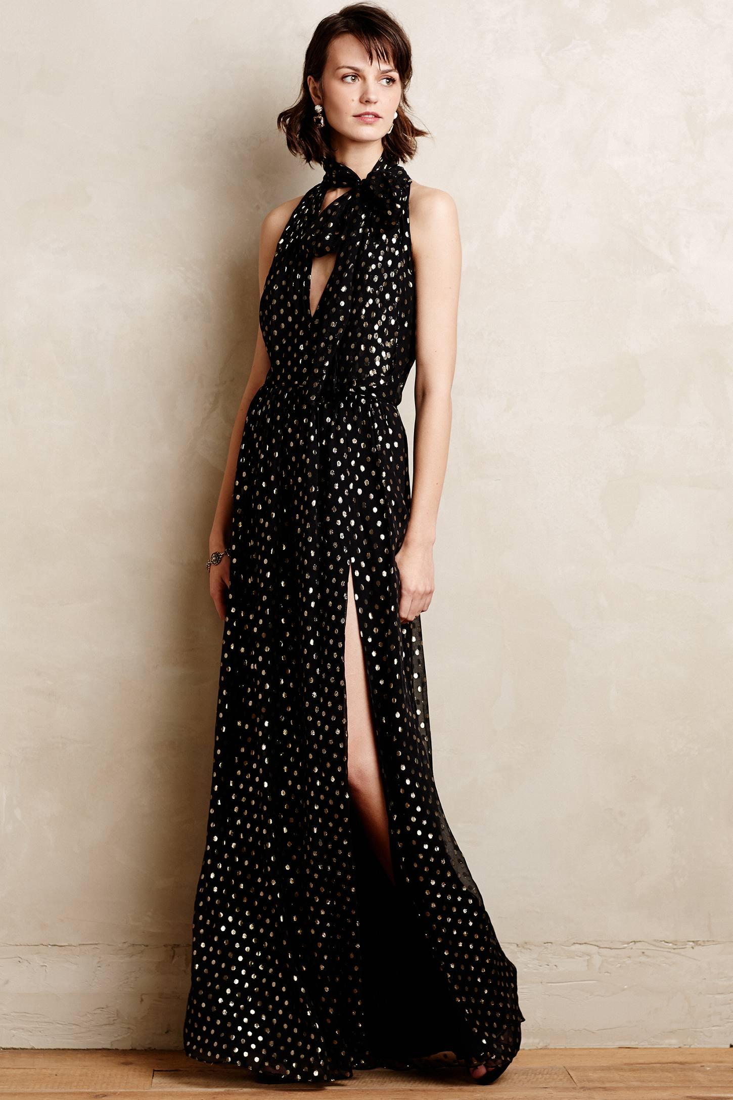 Maxi scarf dress