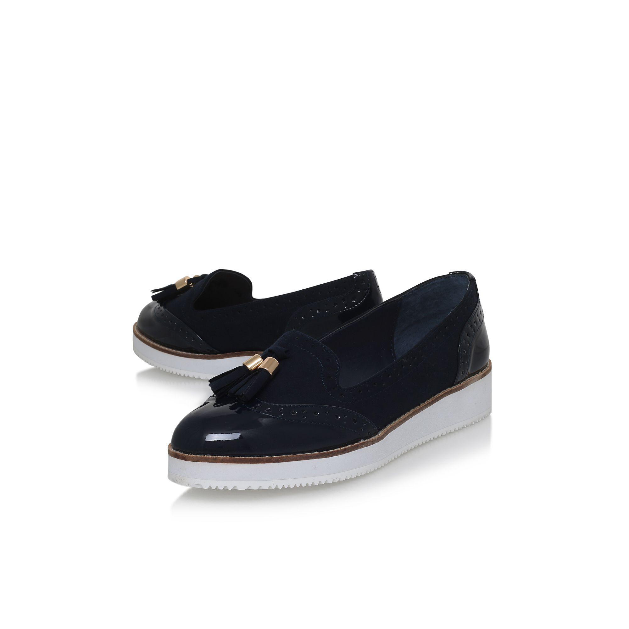 Blue 'Mitch' flat slip on loafers enjoy cheap online sehW5qAp