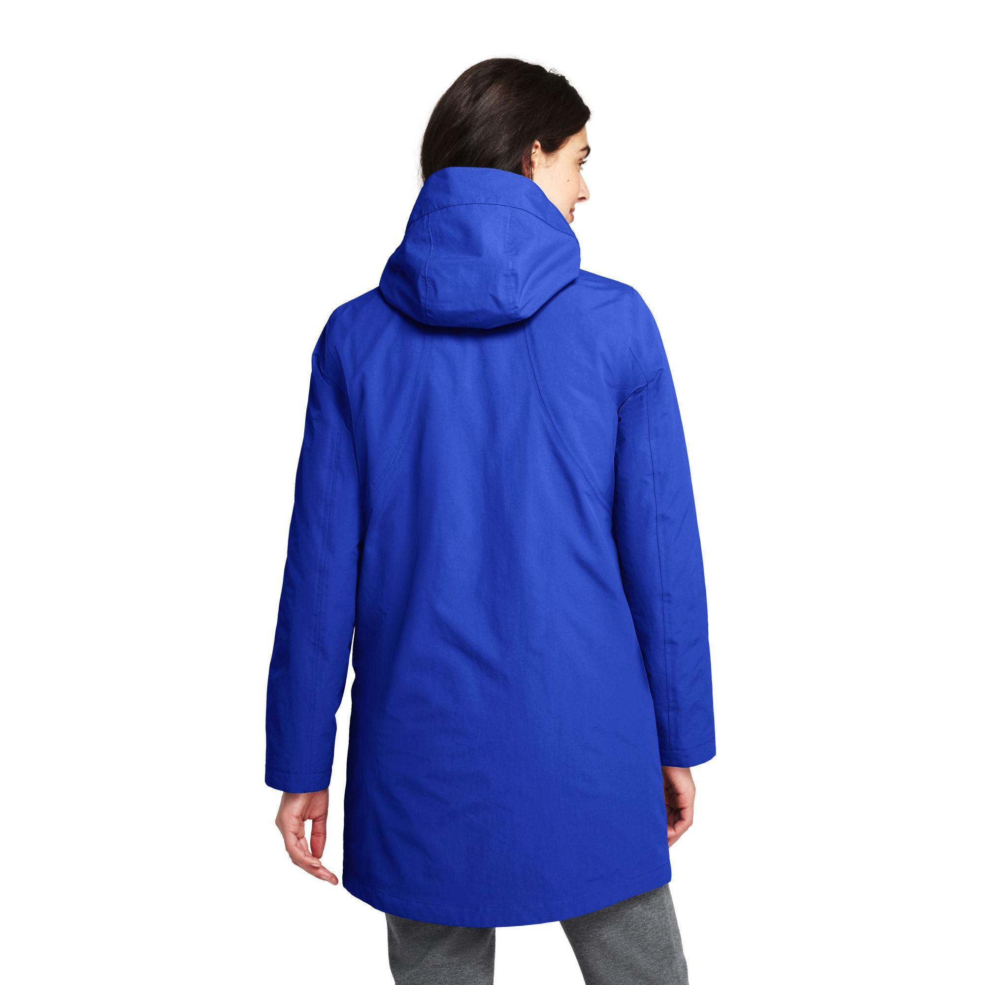 748a79b3d38 Lands  End Blue Petite Squall 3-in-1 Waterproof Coat in Blue - Save ...