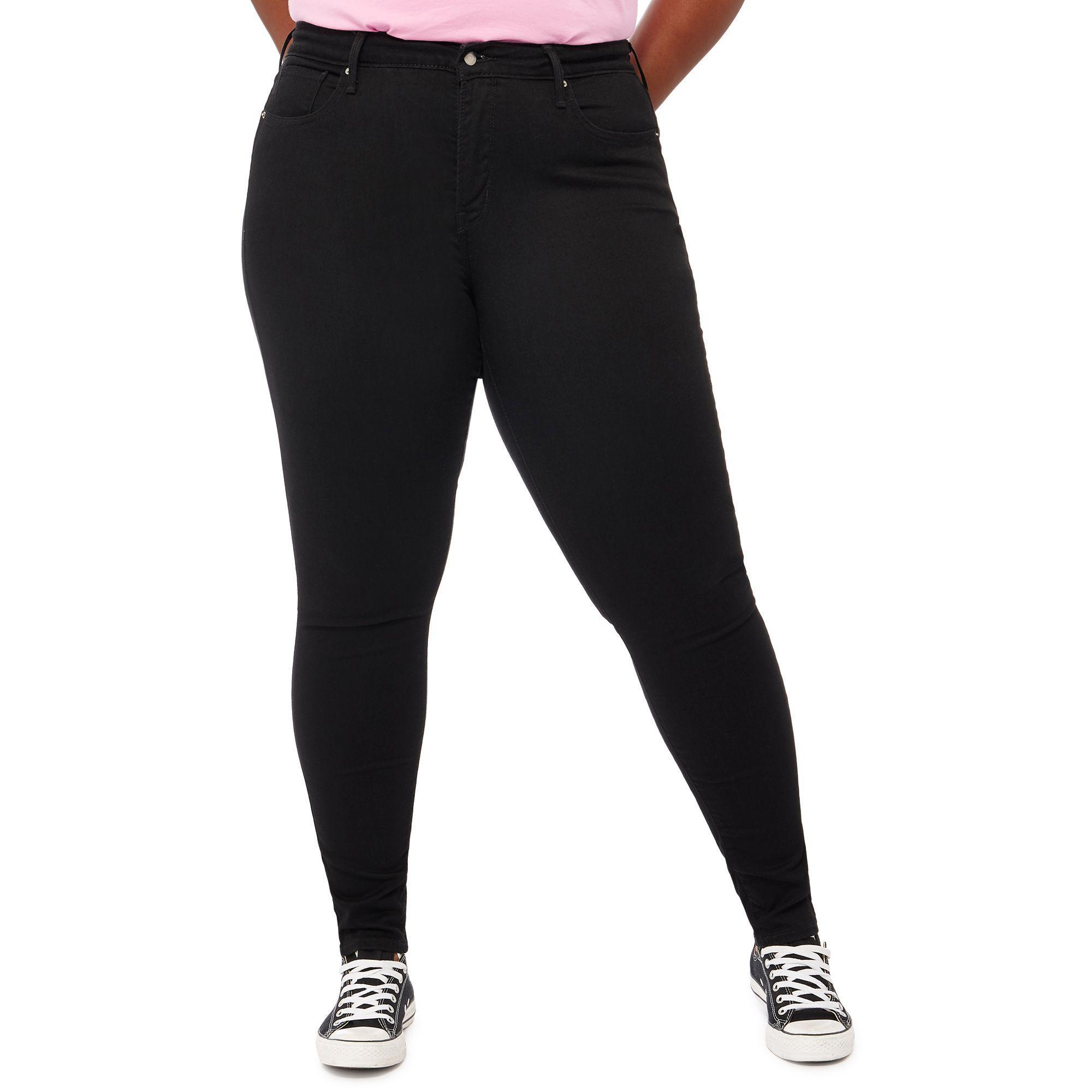0df530b46ac38 Levi s. Women s Black Dark Wash  310  Shaping Plus Size Super Skinny Jeans
