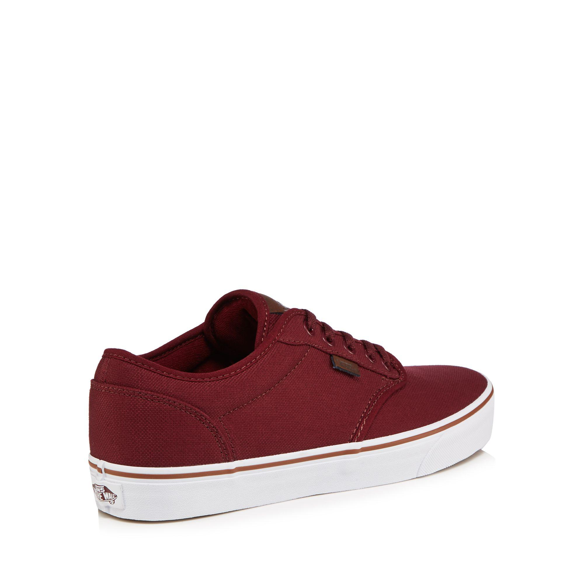 5f19e82992 Vans Red  atwood  Lace Up Trainers in Red for Men - Lyst