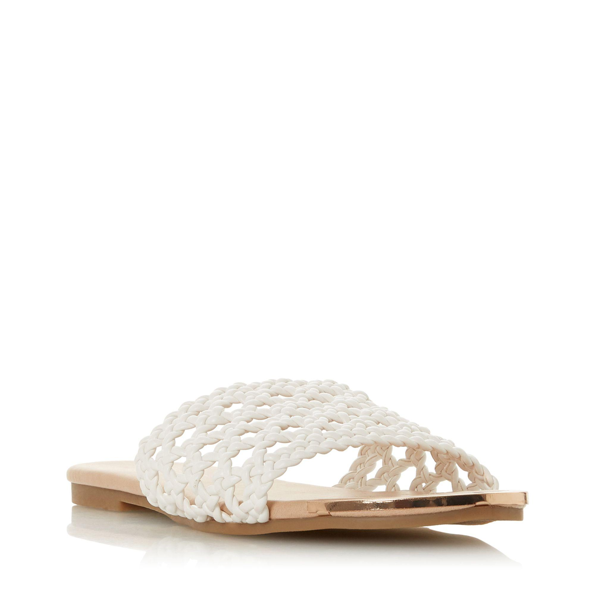 9175e209805 Dune White  leeo  Mule Sandals in White - Lyst