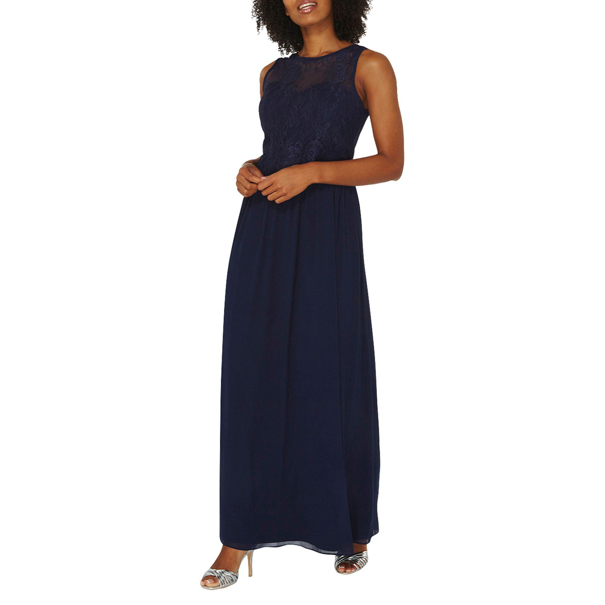 d856076a8a3 Dorothy Perkins   showcase Navy  grace  Maxi Dress in Blue - Lyst