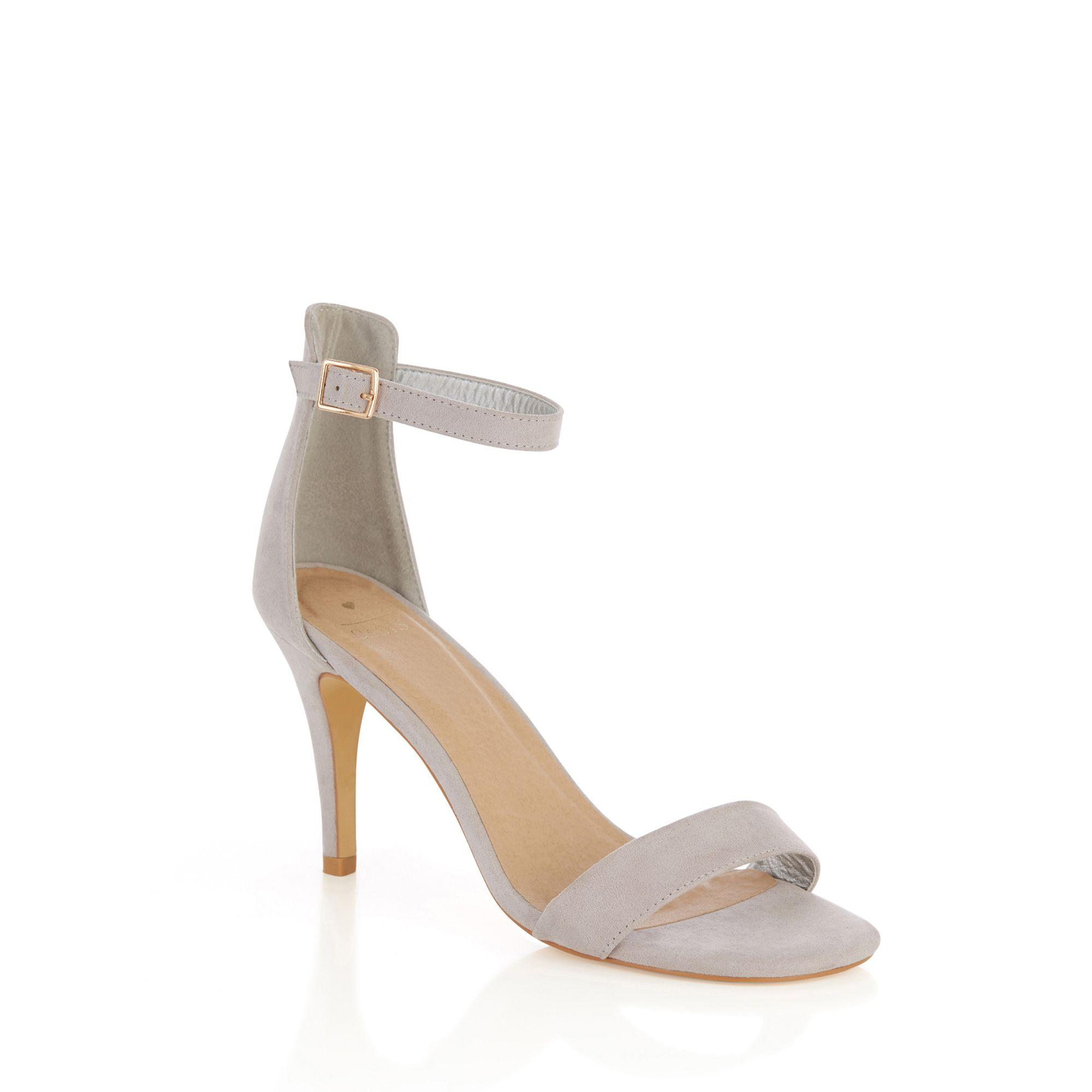 8d689f3ca32 Oasis Mid Grey  estella  Going Out Heels Sandal in Gray - Lyst