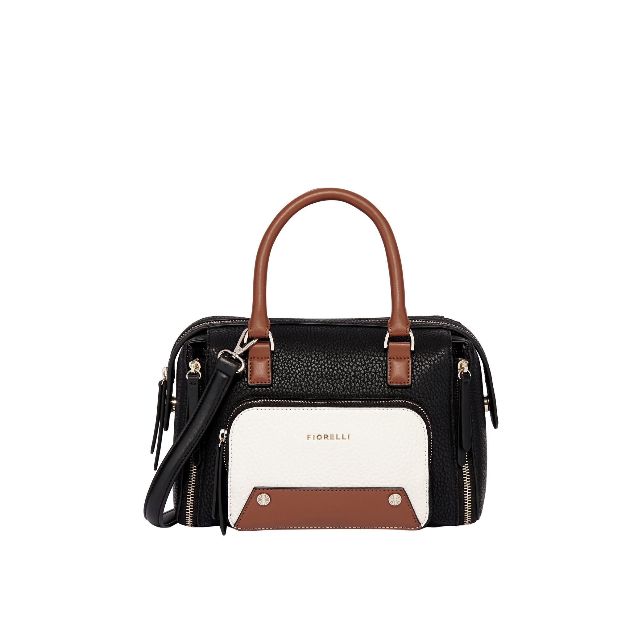 Fiorelli Black  downtown  Mini Bowler Bag in Black - Lyst bb13eb18892e2