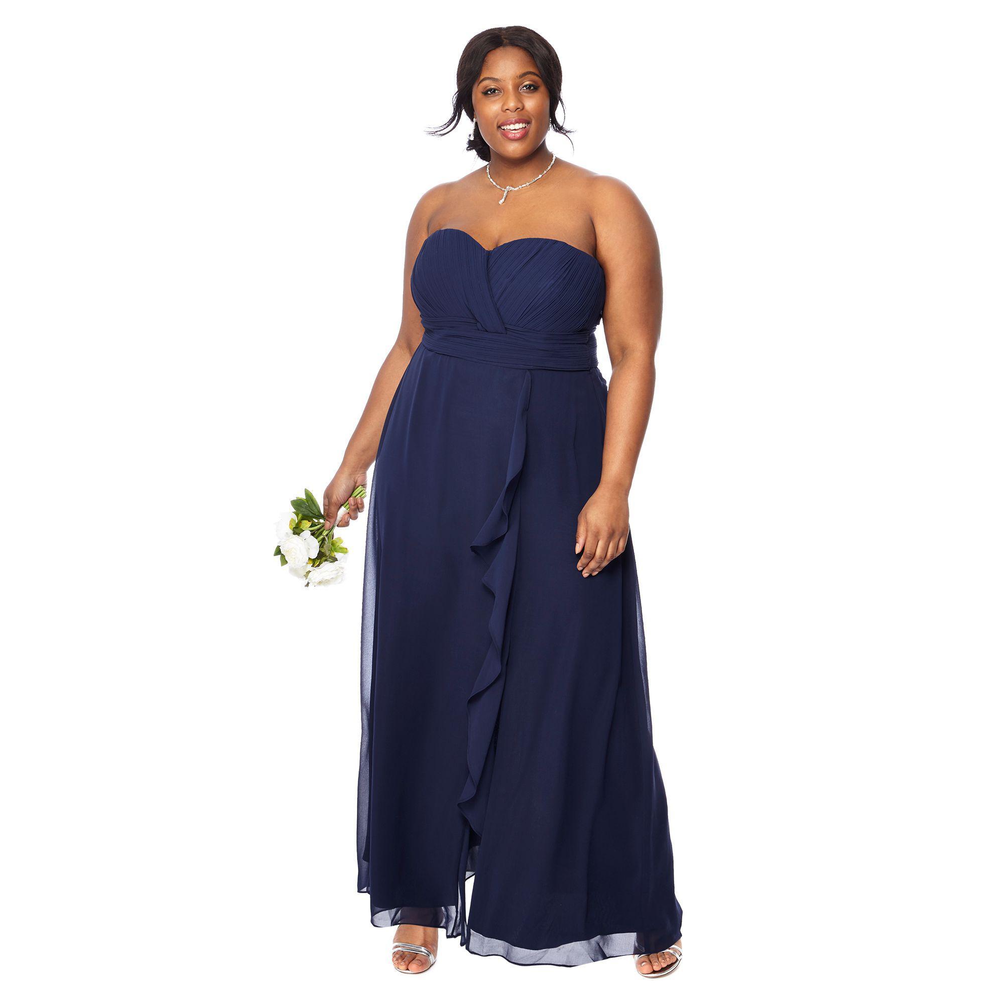 Plus Size Bridesmaid Dresses Blue - Carley & Connellan
