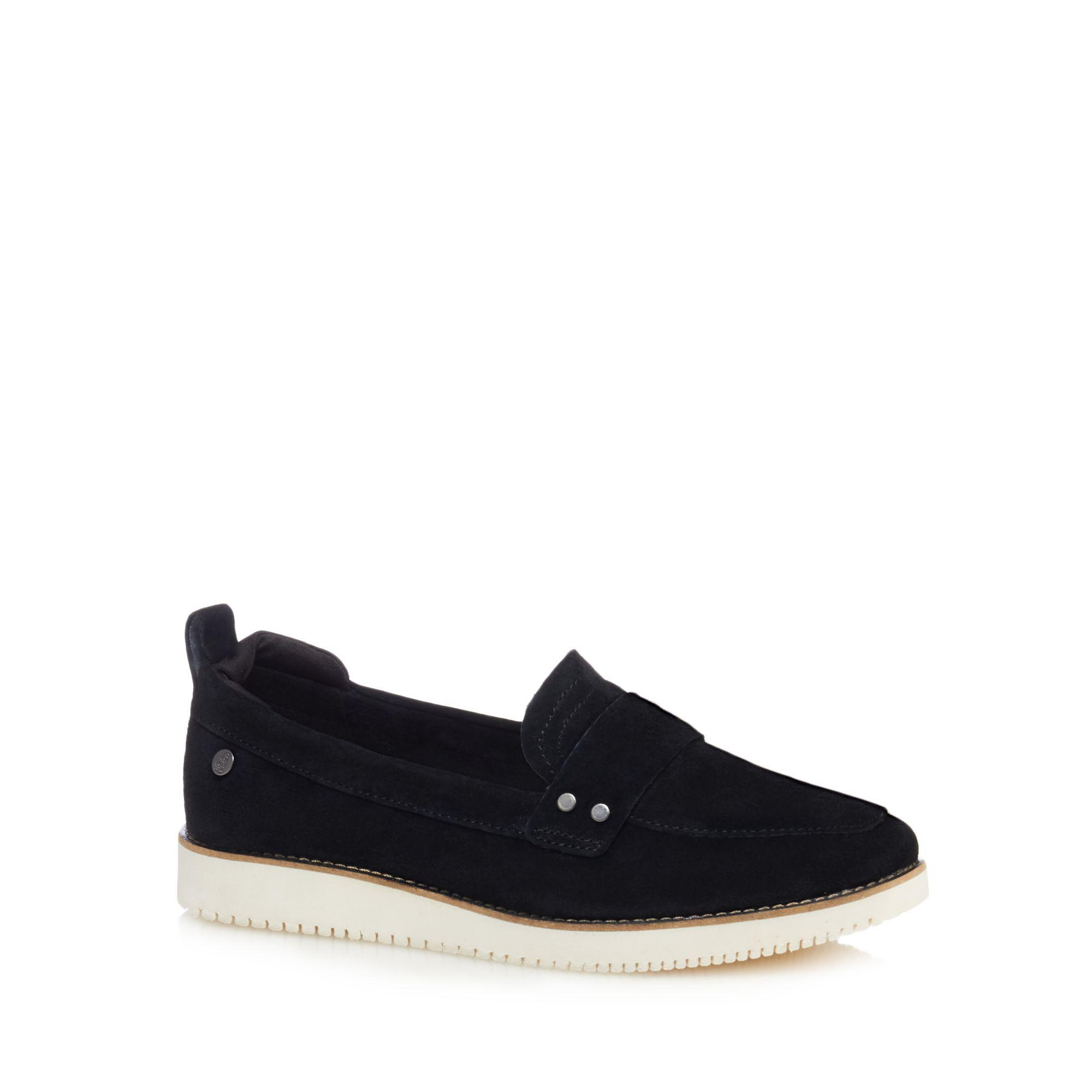clearance supply buy cheap choice Black suede 'Chowchow 3' loafers SHX8st