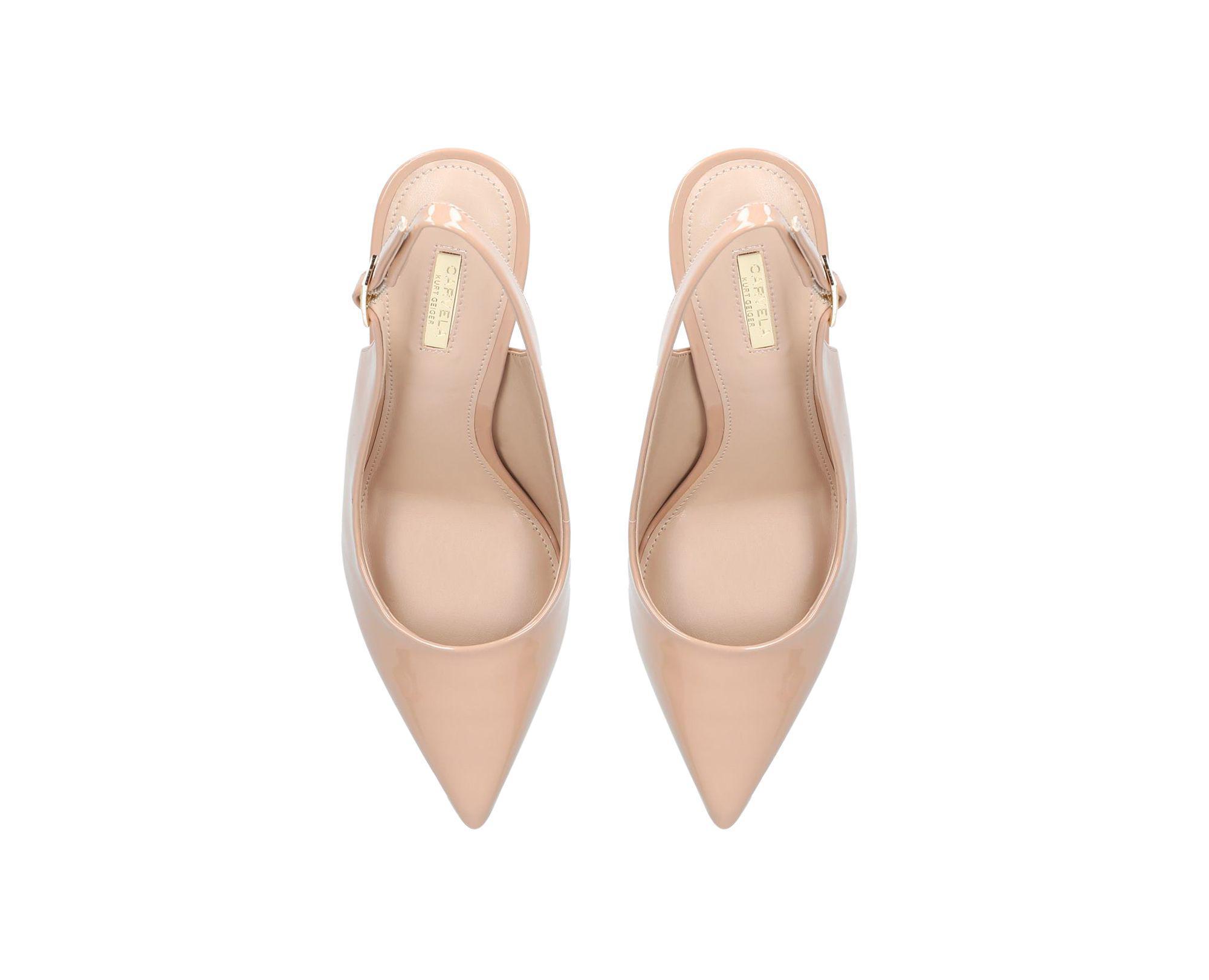 a8e9bb5612 Carvela Kurt Geiger Nude 'alexander' High Heel Court Shoes in ...