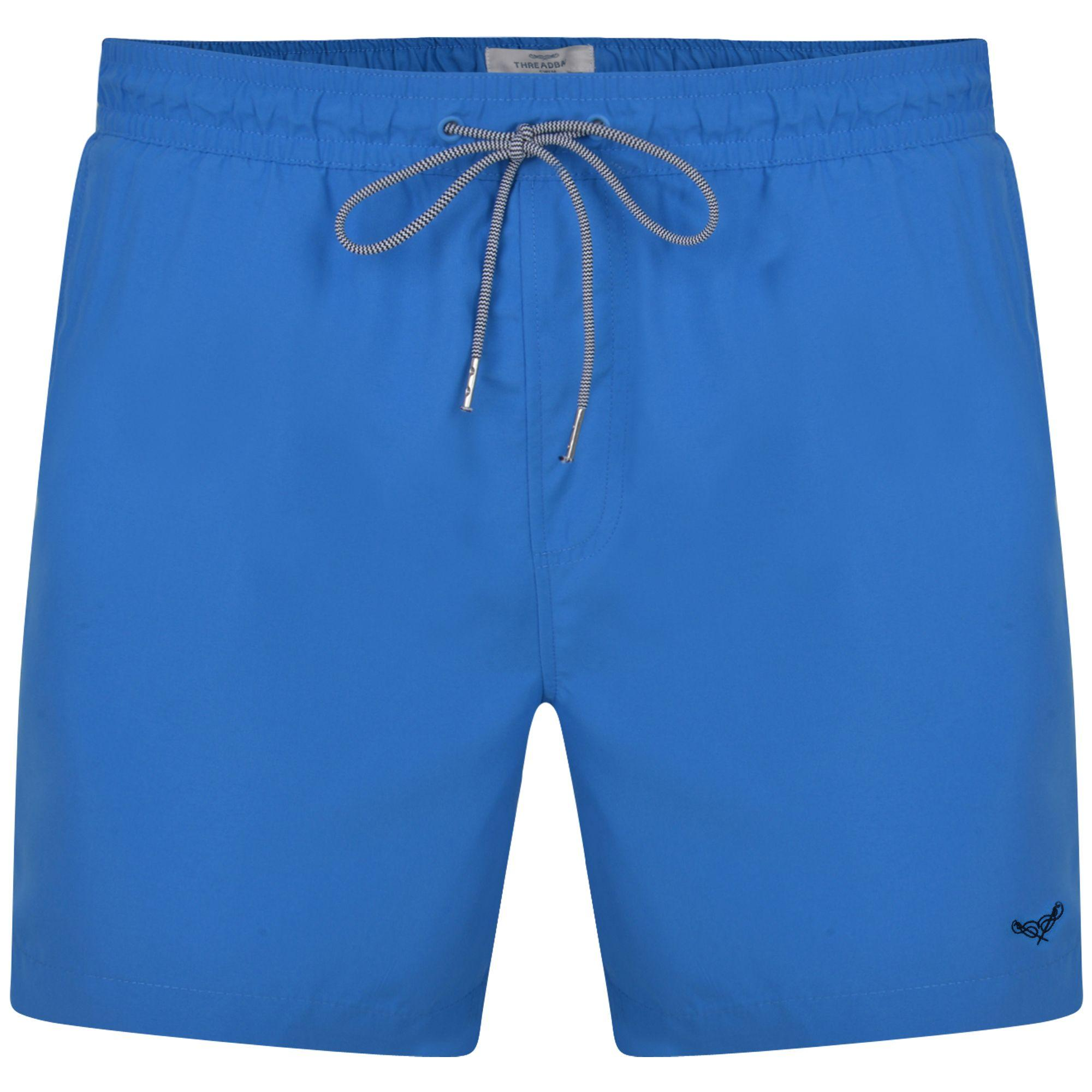 0c91af6549 ... Threadbare - 2 Pack Red And Blue 'barwhit' Swim Shorts for Men - Lyst.  Visit Debenhams. Tap to visit site
