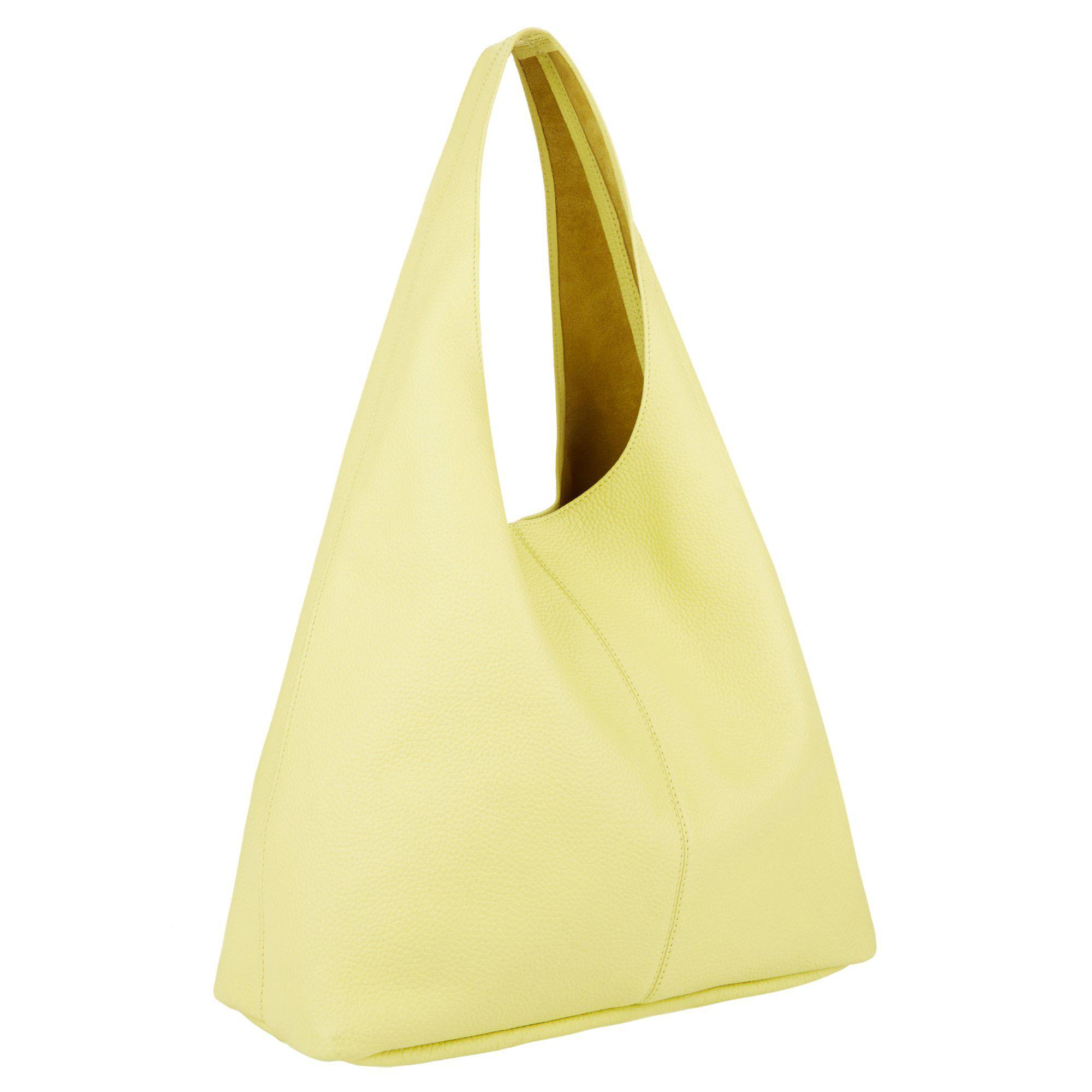 d6c271a24438 Hobbs Pale Yellow  lula  Bag in Yellow - Lyst