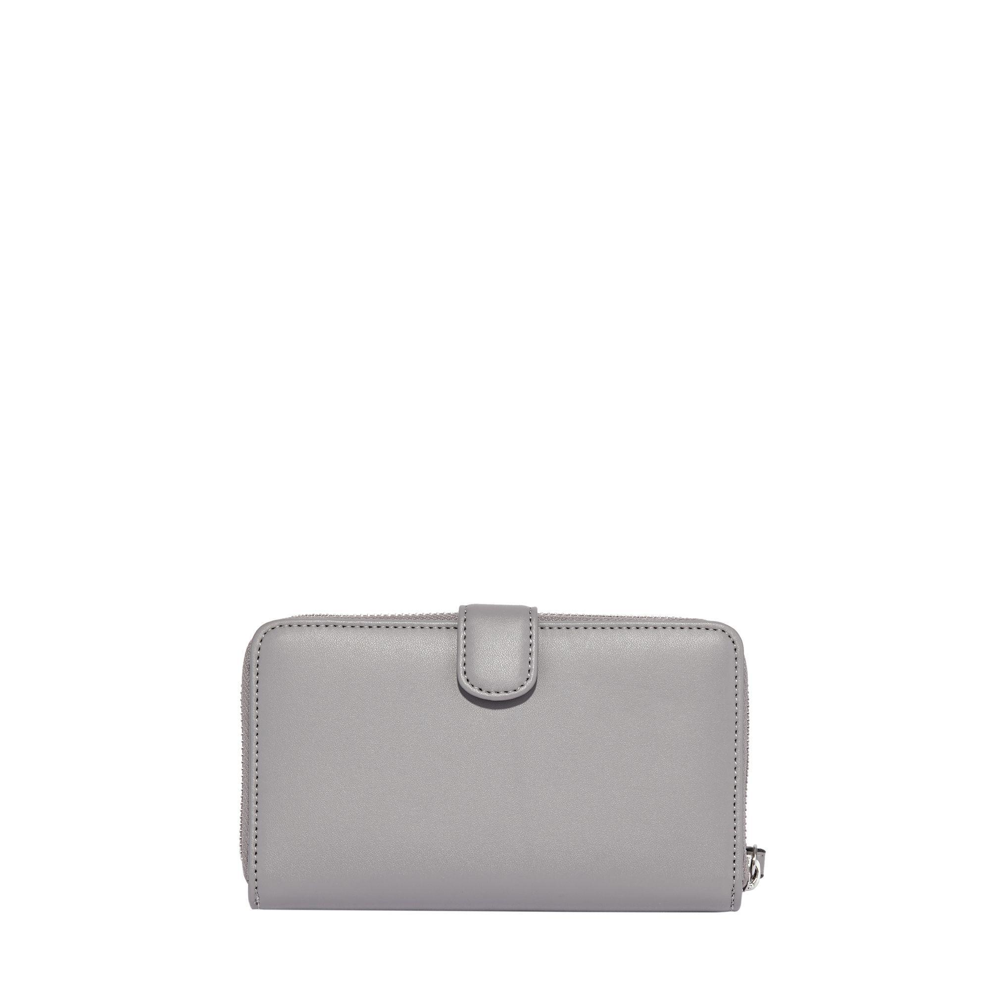 0836d6c95d Fiorelli Grey Abbey Zip Around Purse in Gray - Lyst