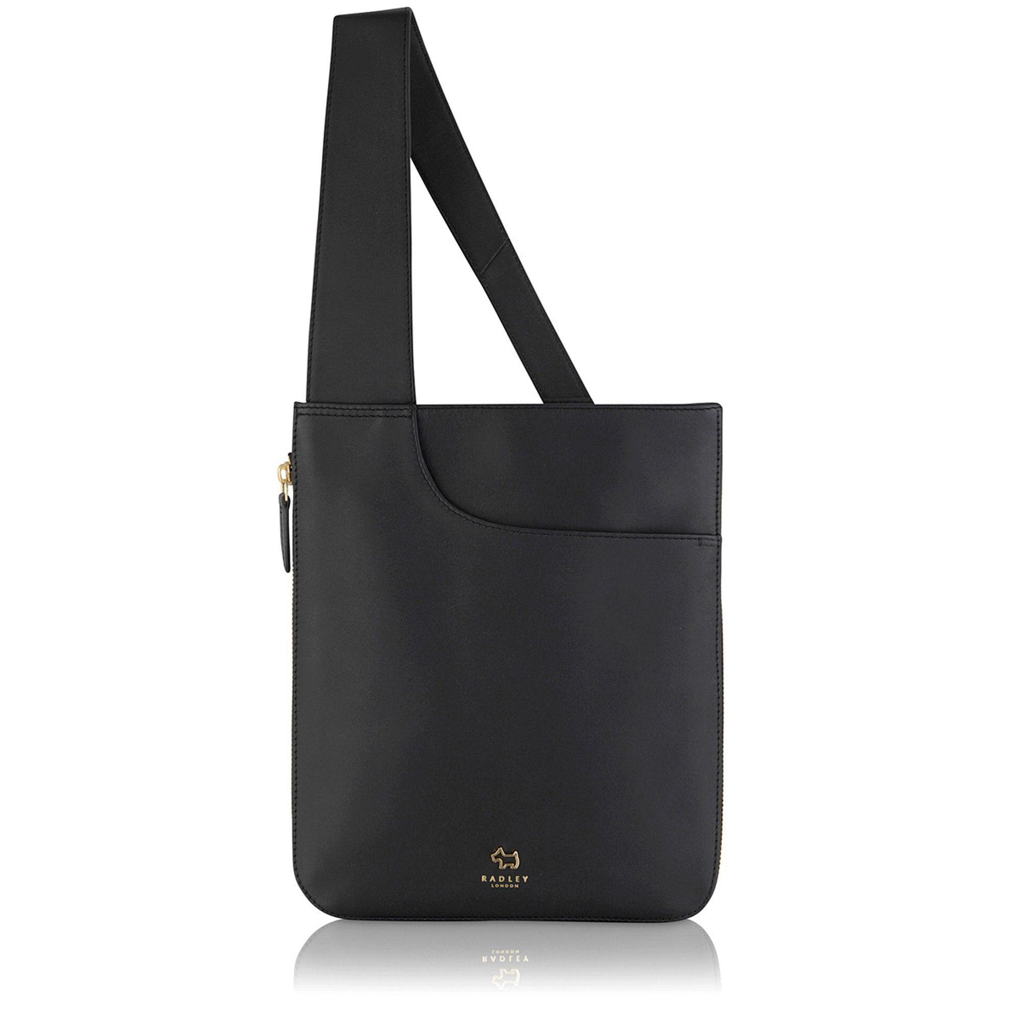 Radley Pocket Bag Medium Zip-top Cross Body Bag in Black - Lyst 9cce859ad870d