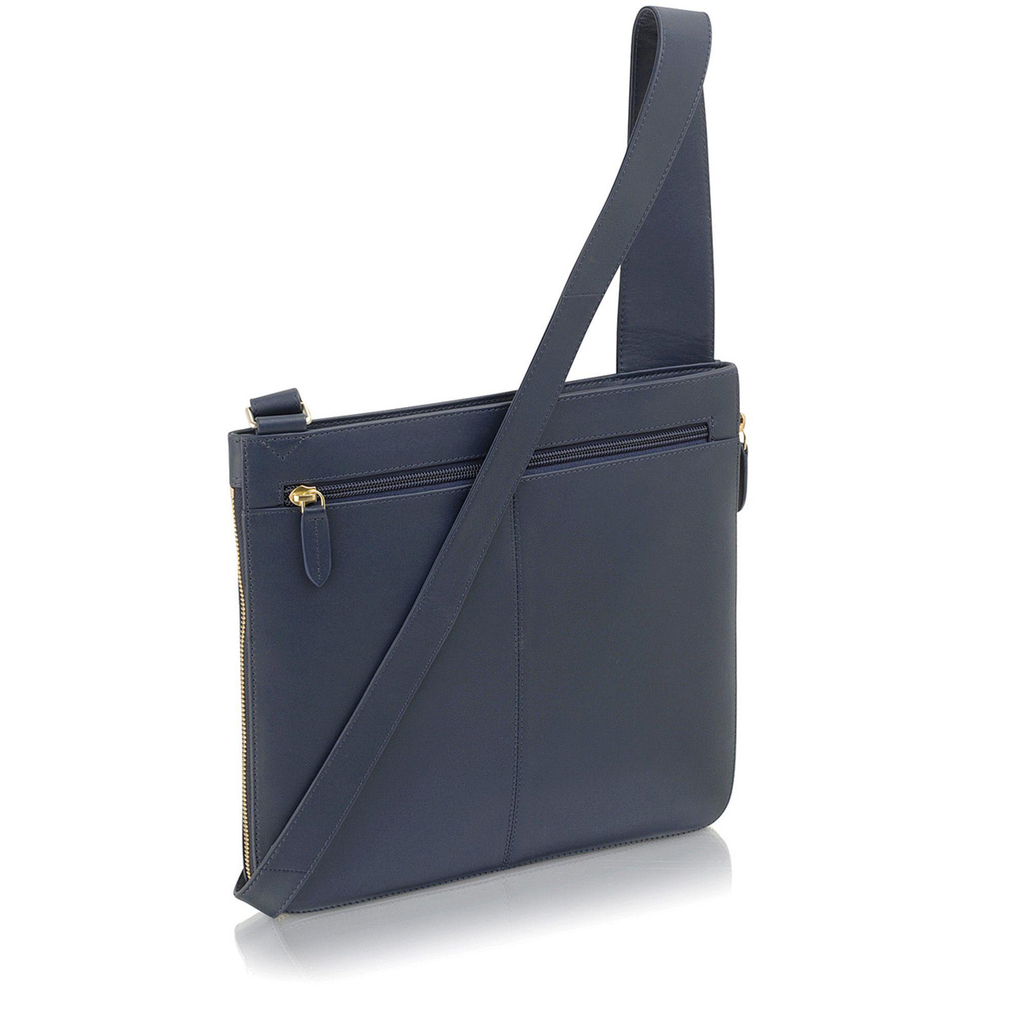 Radley - Blue Pockets Large Zip-top Cross Body Bag - Lyst. View fullscreen 6b179843f2675