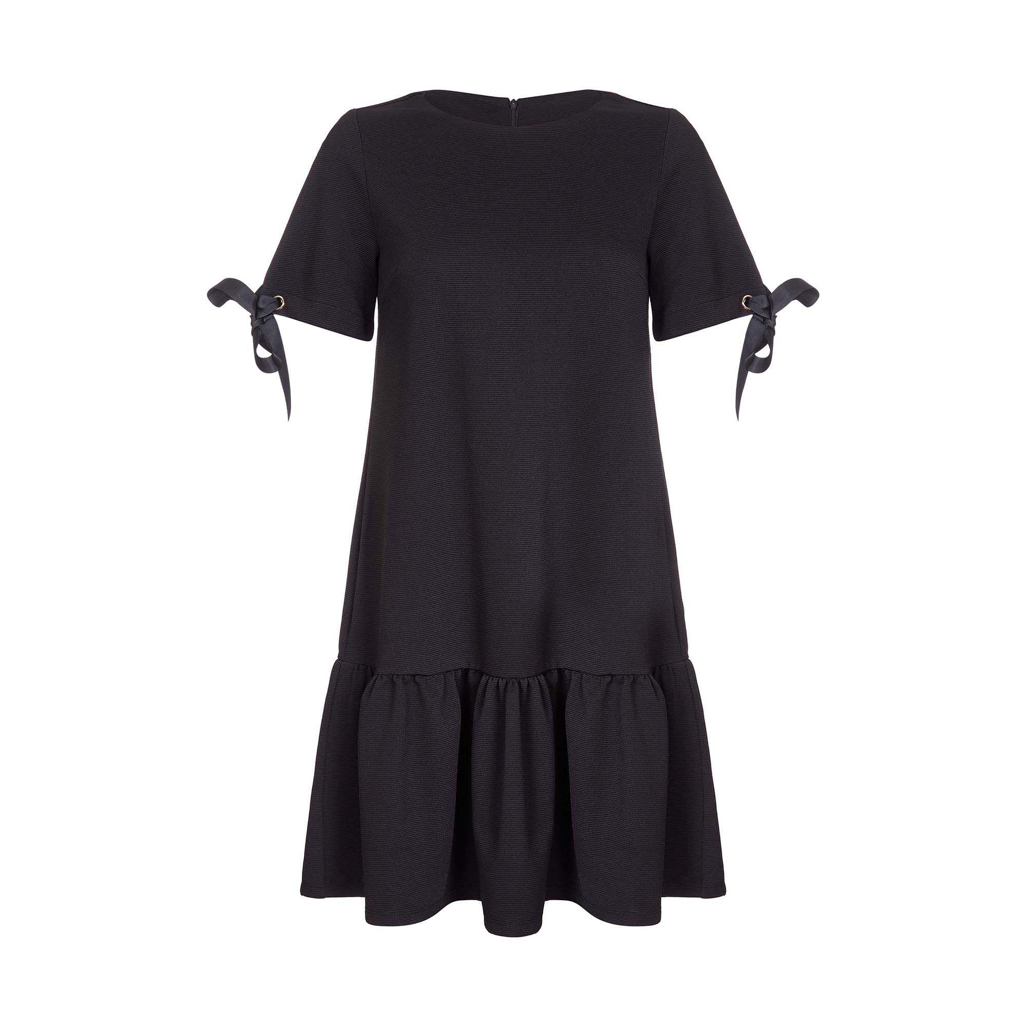 982176cd014 Yumi  - Black Ribbed Ponte  arliss  Tunic Dress - Lyst. View fullscreen