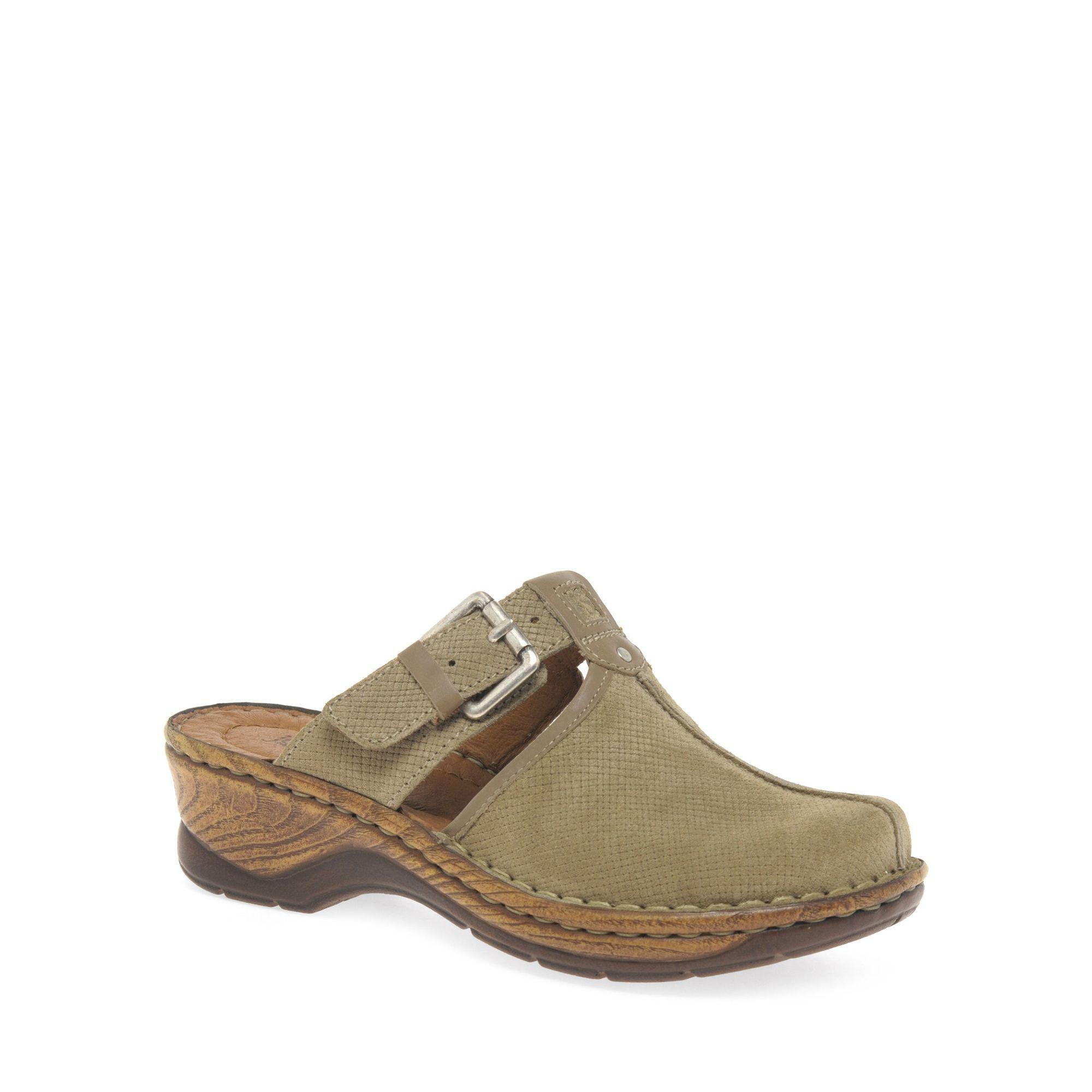 cheap footlocker Cream 'Catalonia 17' Womens T Strap Mules free shipping best store to get authentic online amazon online sale Cheapest laBMc90KTR