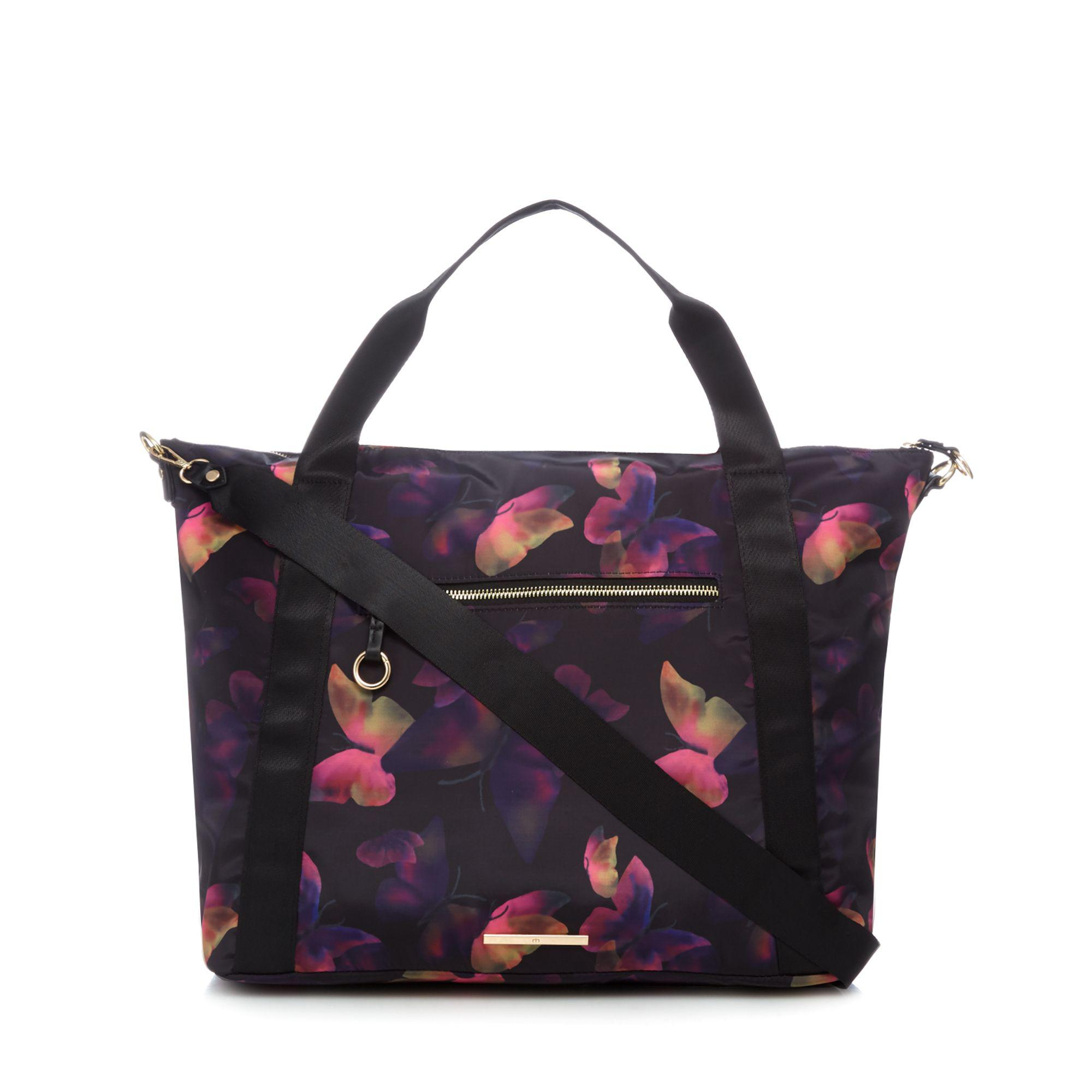 5325e6e9063d Red Herring Multi-coloured Floral Print Large Tote Bag - Lyst