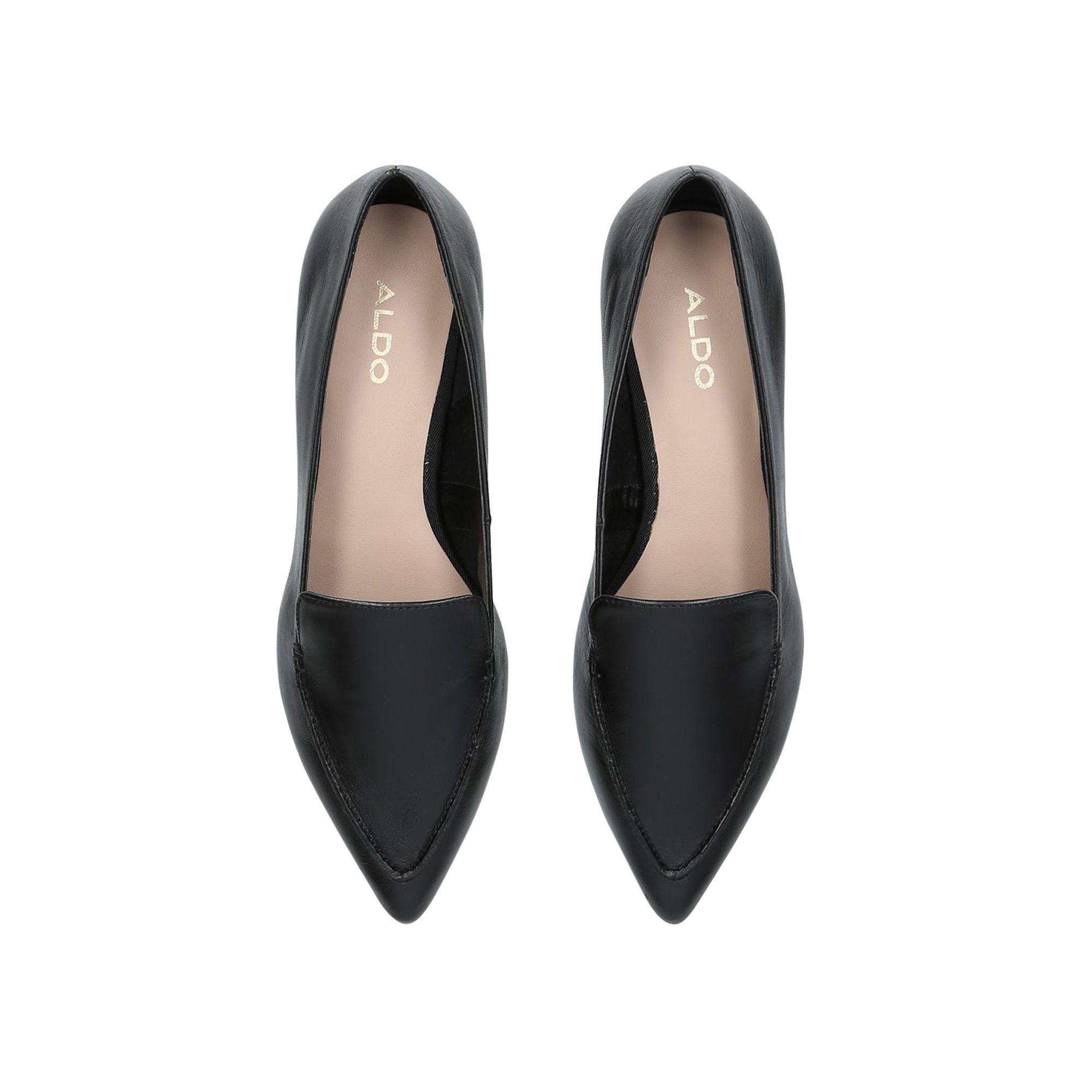 a7f51ae6723 ALDO - Black  gwuryan  Slip On Loafers - Lyst. View fullscreen