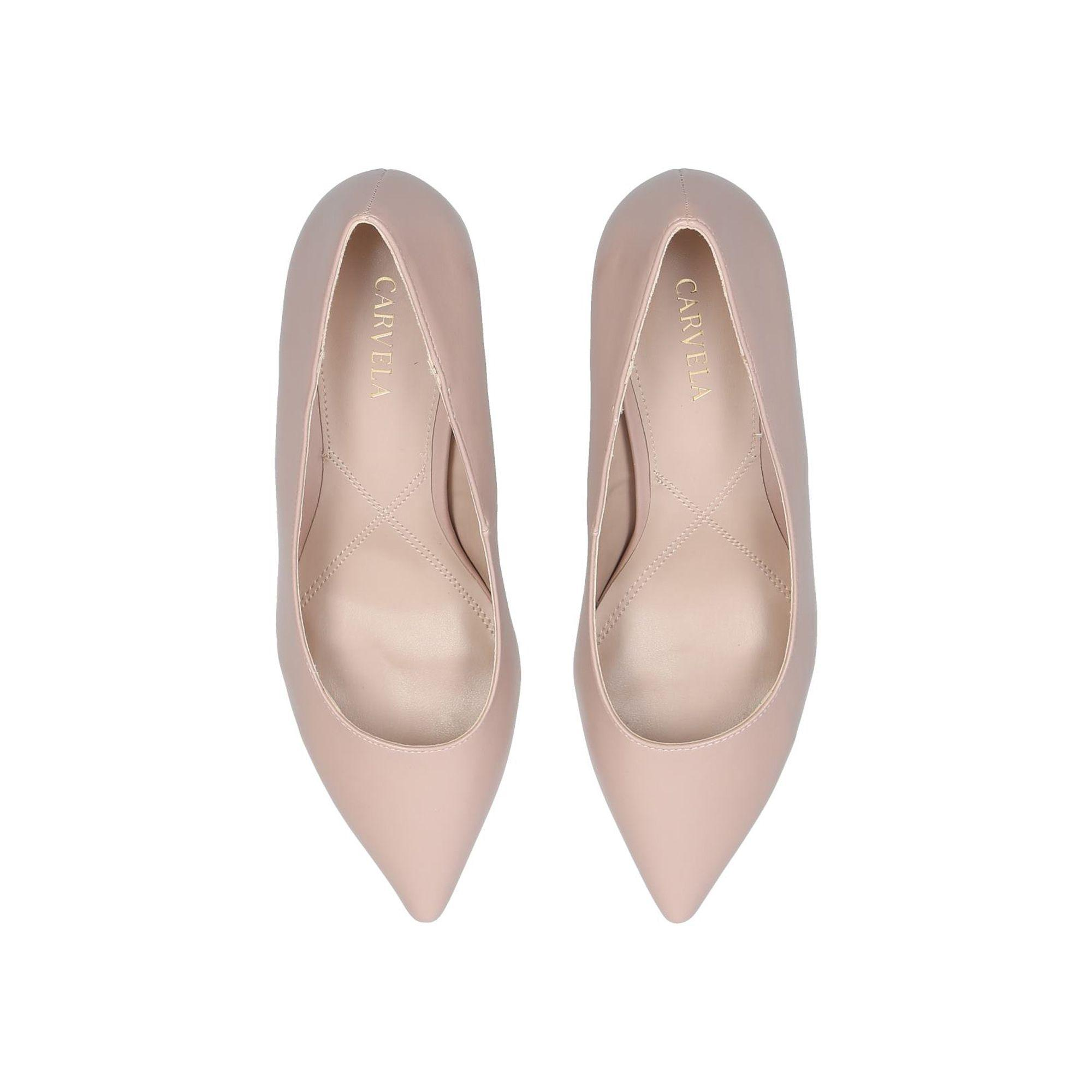 968d501560d Carvela Kurt Geiger - Natural Nude  kareful  Court Shoes - Lyst. View  fullscreen