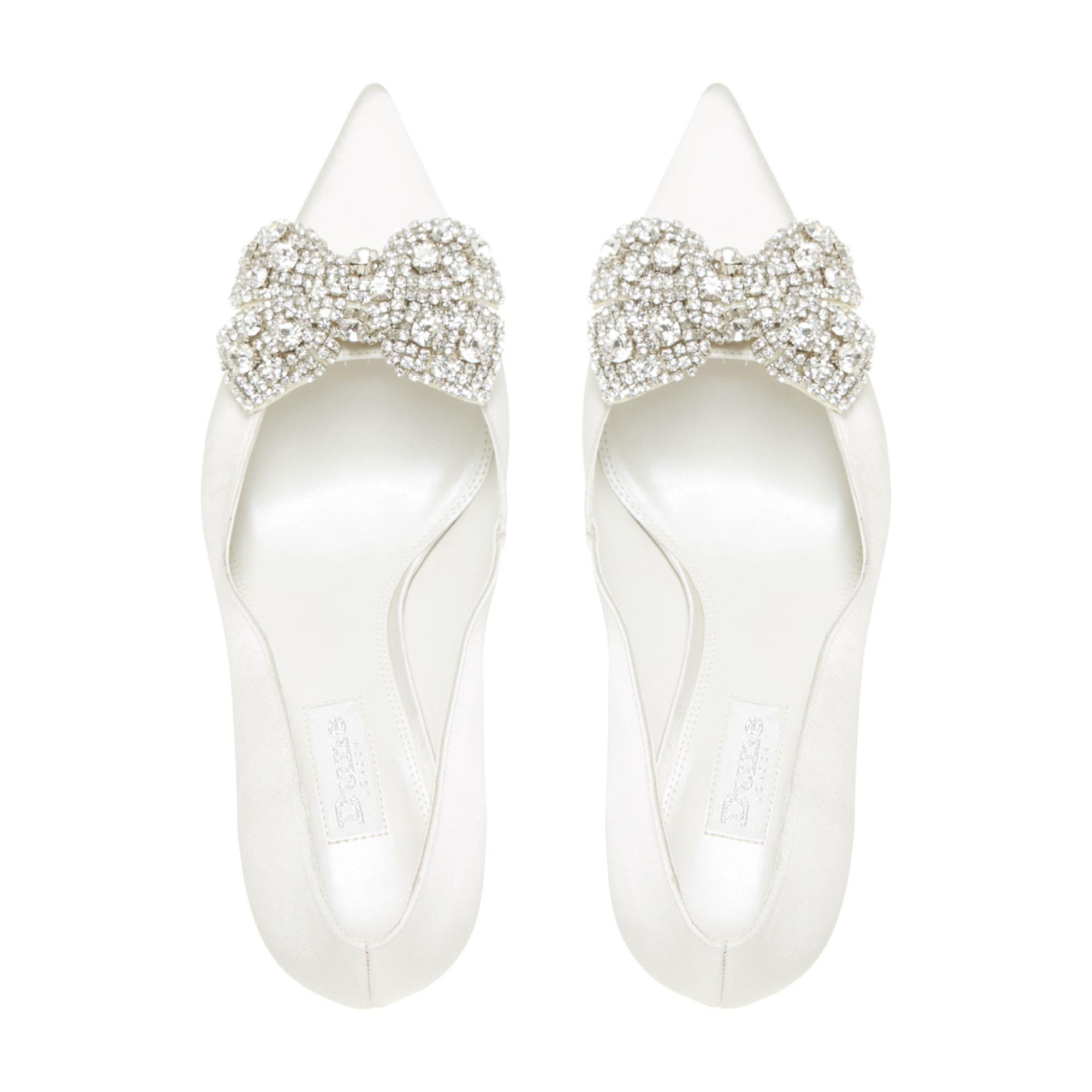 4975f30fbd1 ...  beaubelle  Jewelled Bow Pointed Toe Court Shoes - Lyst. View fullscreen