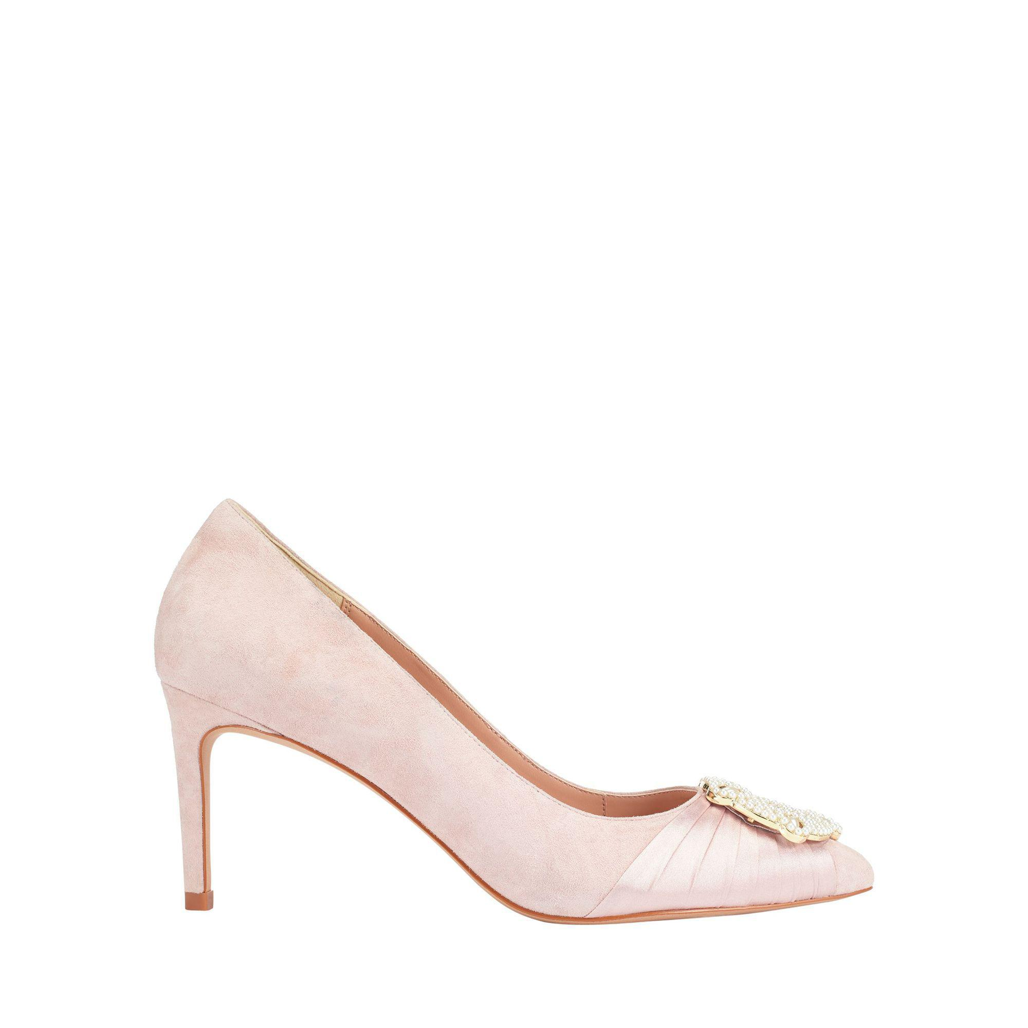 c8ebc4551a2e Phase Eight Georgie Pearl Court Shoes in Pink - Lyst