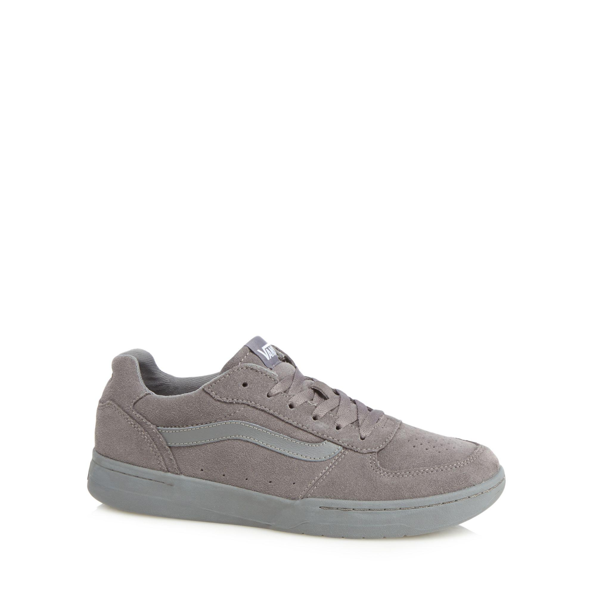 5ea4c24a519 Lyst - Vans Grey Suede  knoll  Trainers in Gray for Men