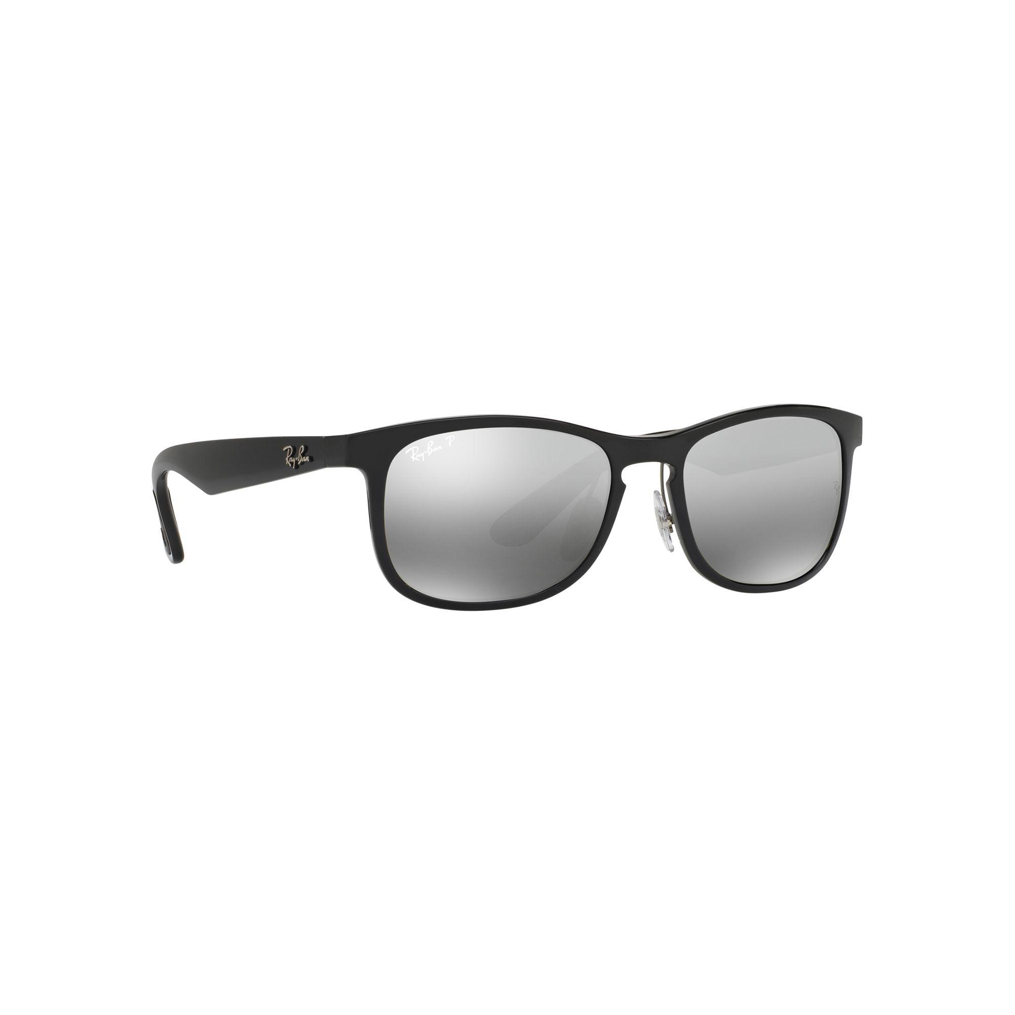 c46a3da35321c Ray-Ban Shiny Black Rb4263 Square Sunglasses in Black for Men - Lyst