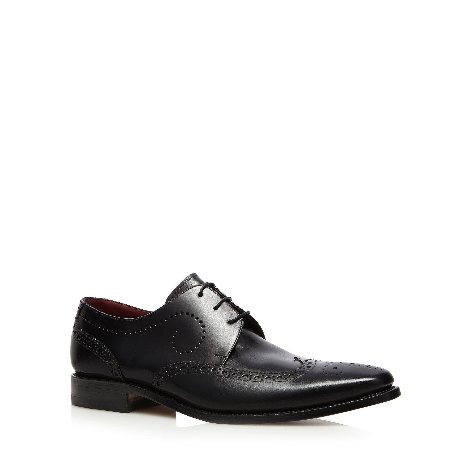 Black leather 'Kruger' brogues shop for cheap price wiki for sale with mastercard for sale buy cheap Inexpensive APaNMB