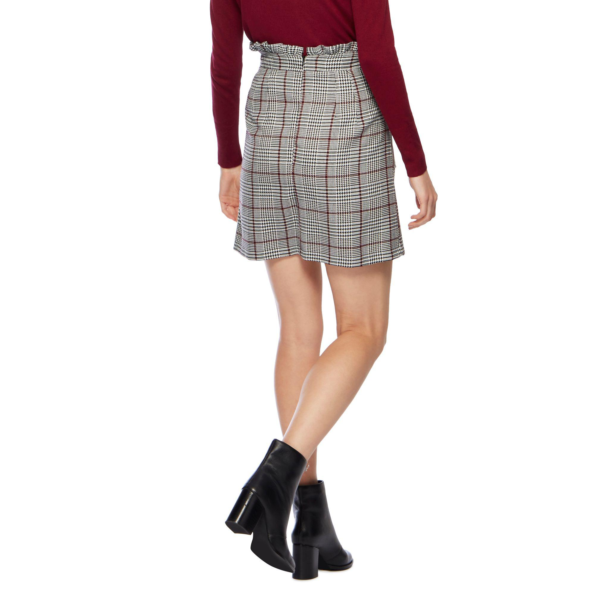 506a47f81 Red Herring Multi Coloured Check Print Skirt - Lyst
